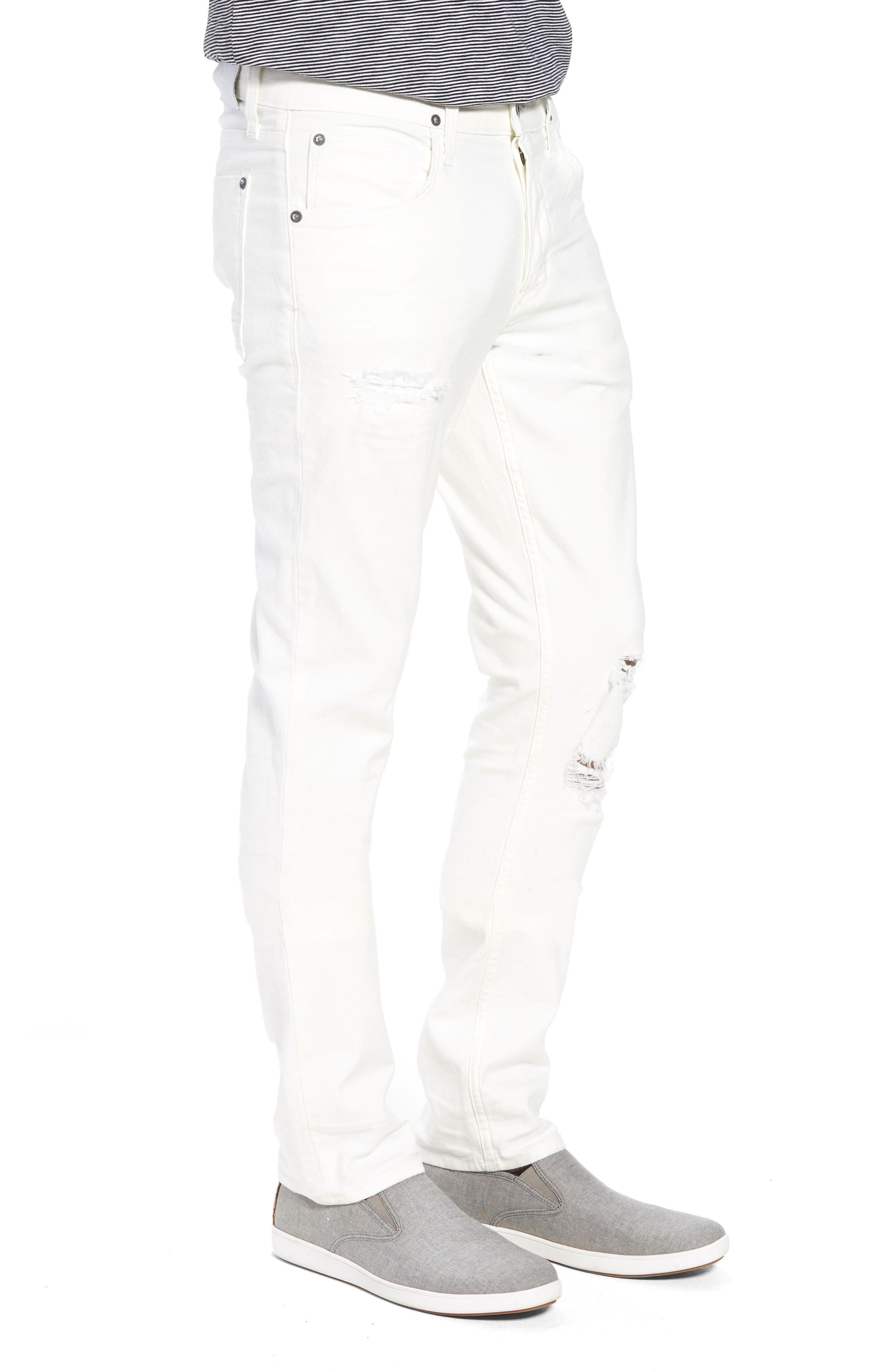 Blake Slim Fit Jeans,                             Alternate thumbnail 3, color,                             110