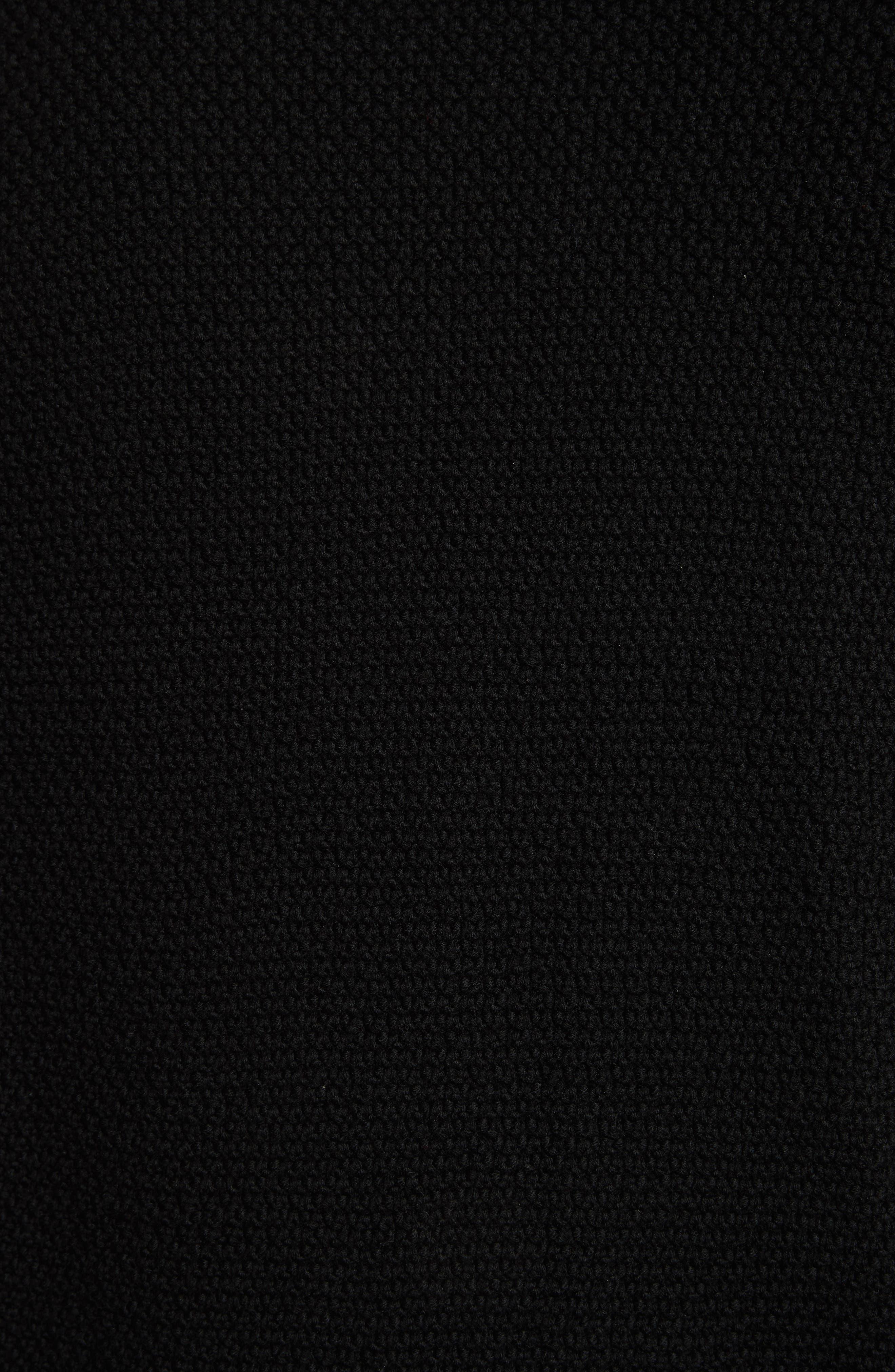 Cardiff Shawl Cardigan,                             Alternate thumbnail 5, color,                             BLACK