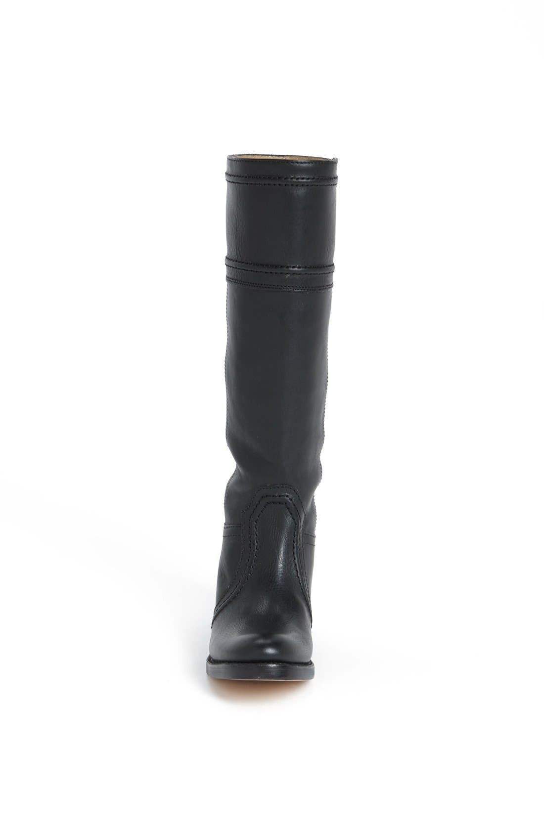 'Jane 14' Tall Pull-On Boot,                             Alternate thumbnail 4, color,                             001