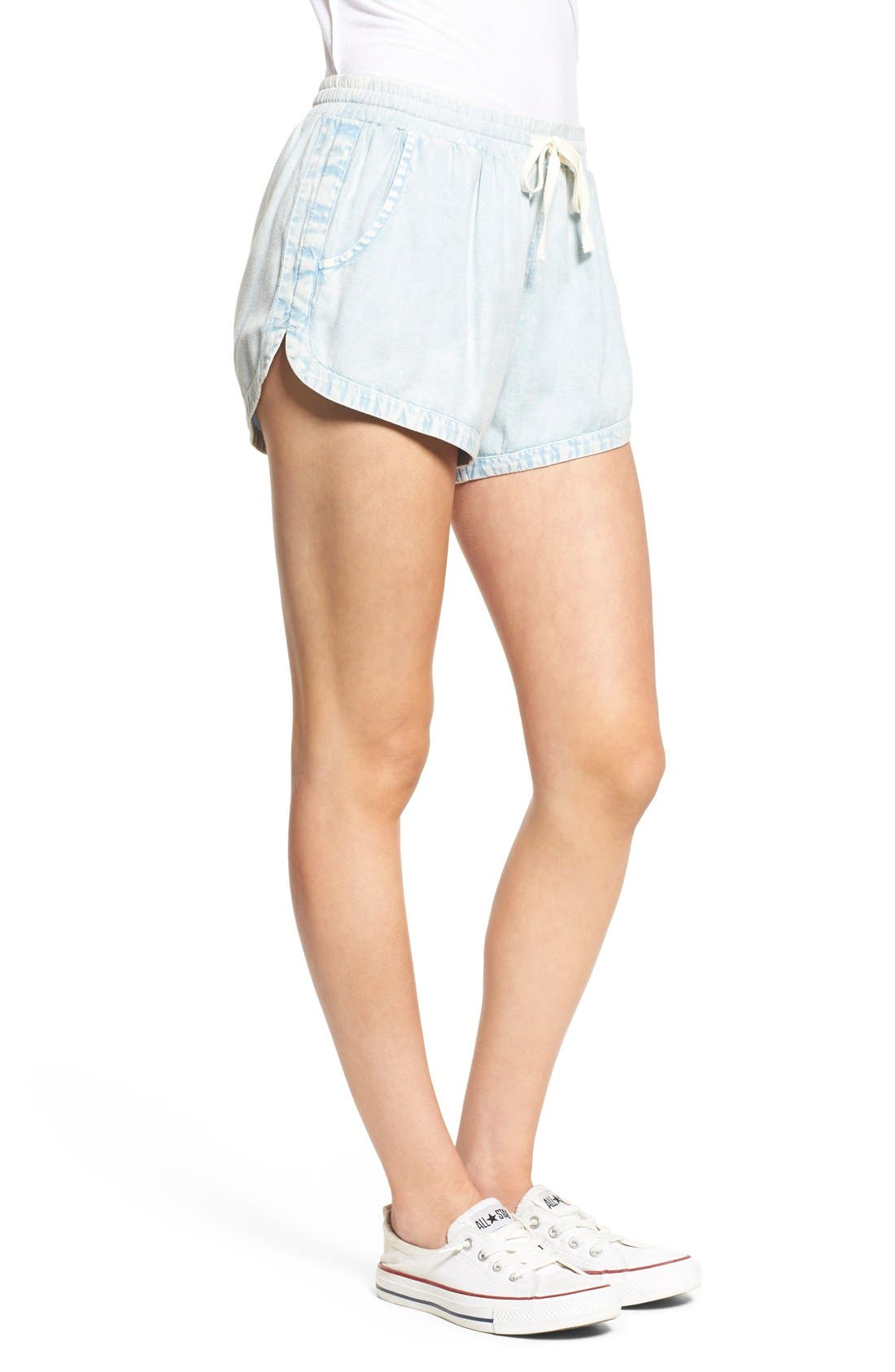 'Road Trippin' Shorts,                             Alternate thumbnail 2, color,                             CHAMBRAY BLUE