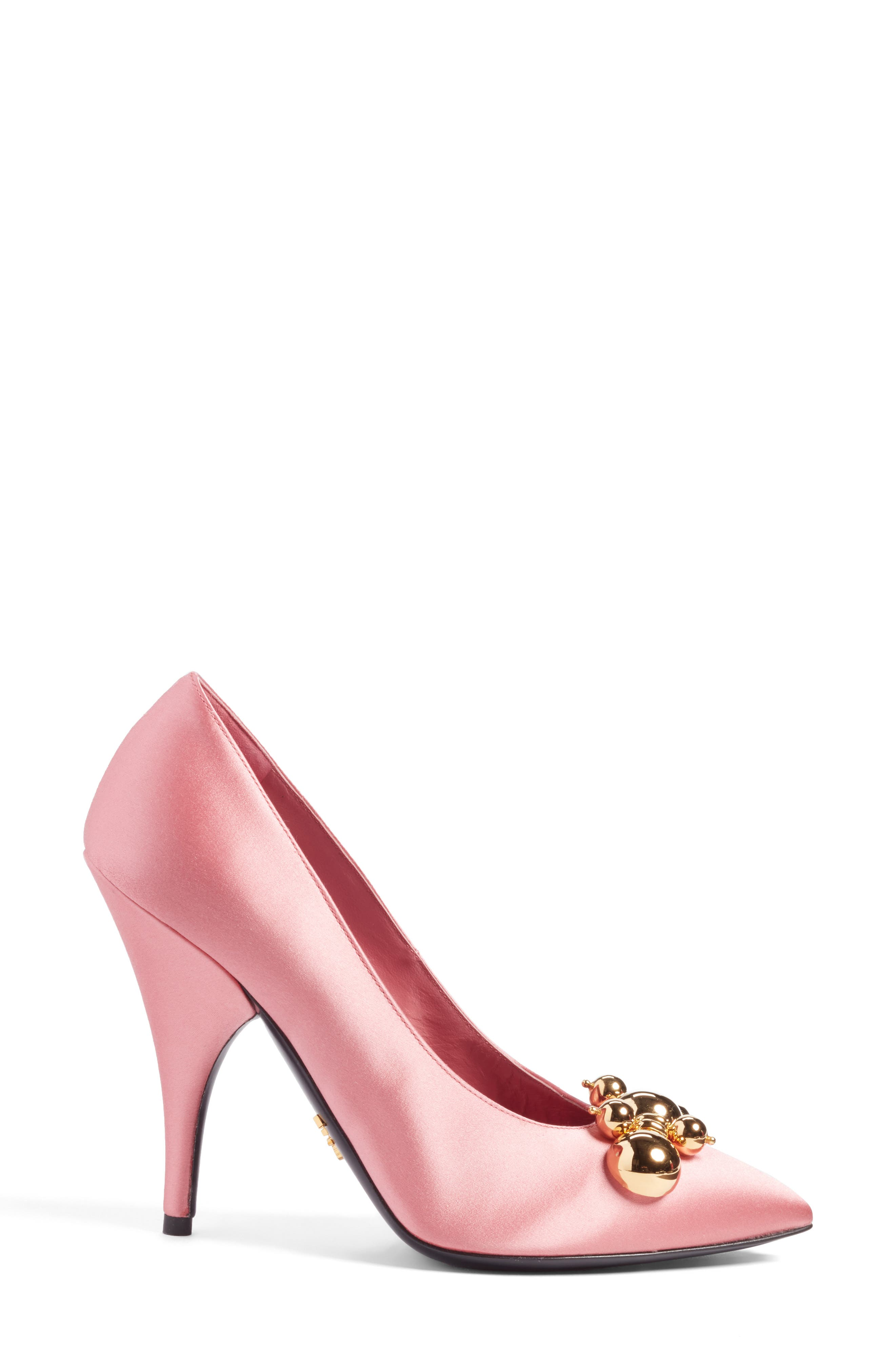 Embellished Pump,                             Alternate thumbnail 3, color,                             650