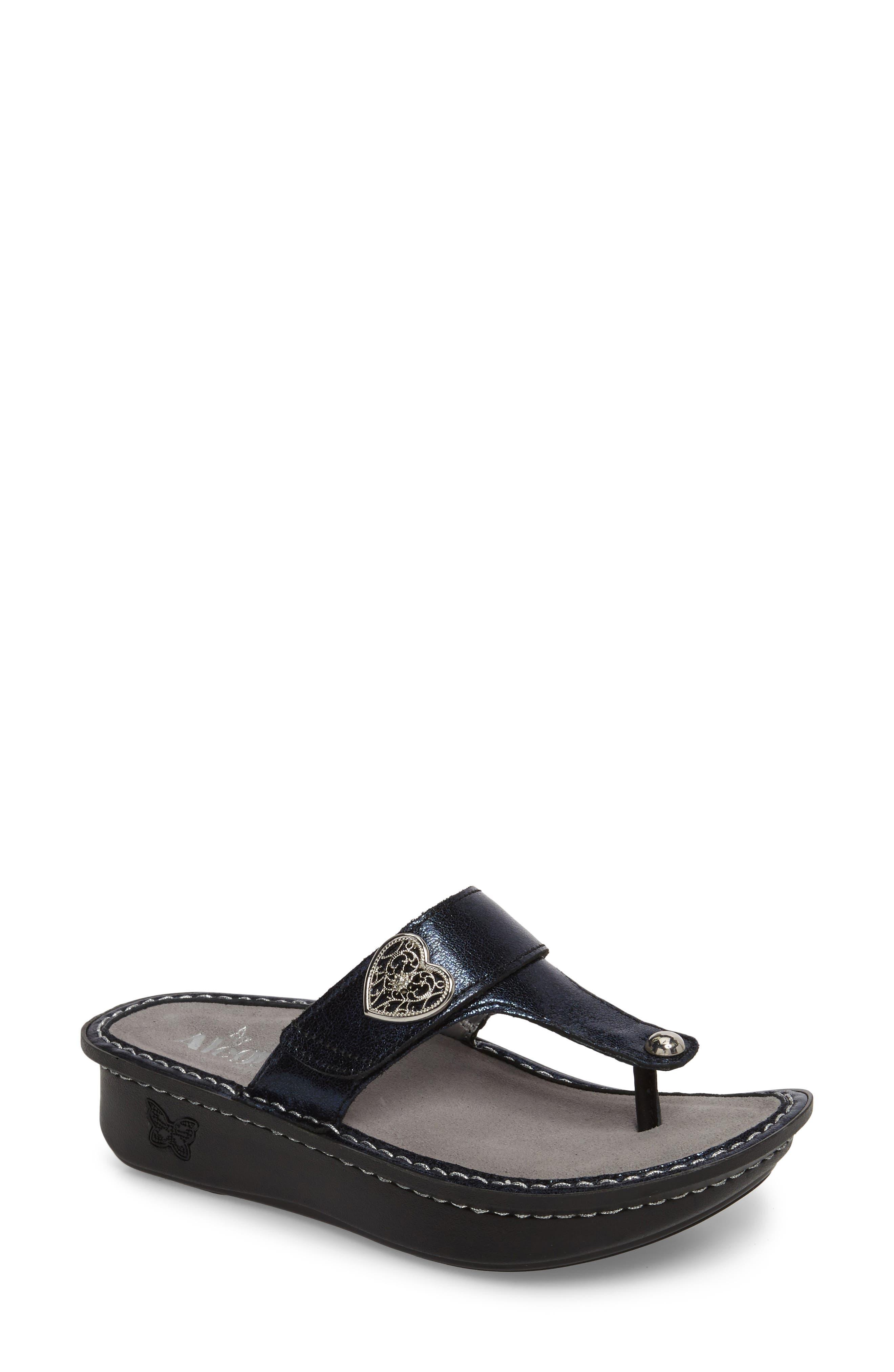 'Carina' Sandal,                         Main,                         color, DUSK LEATHER