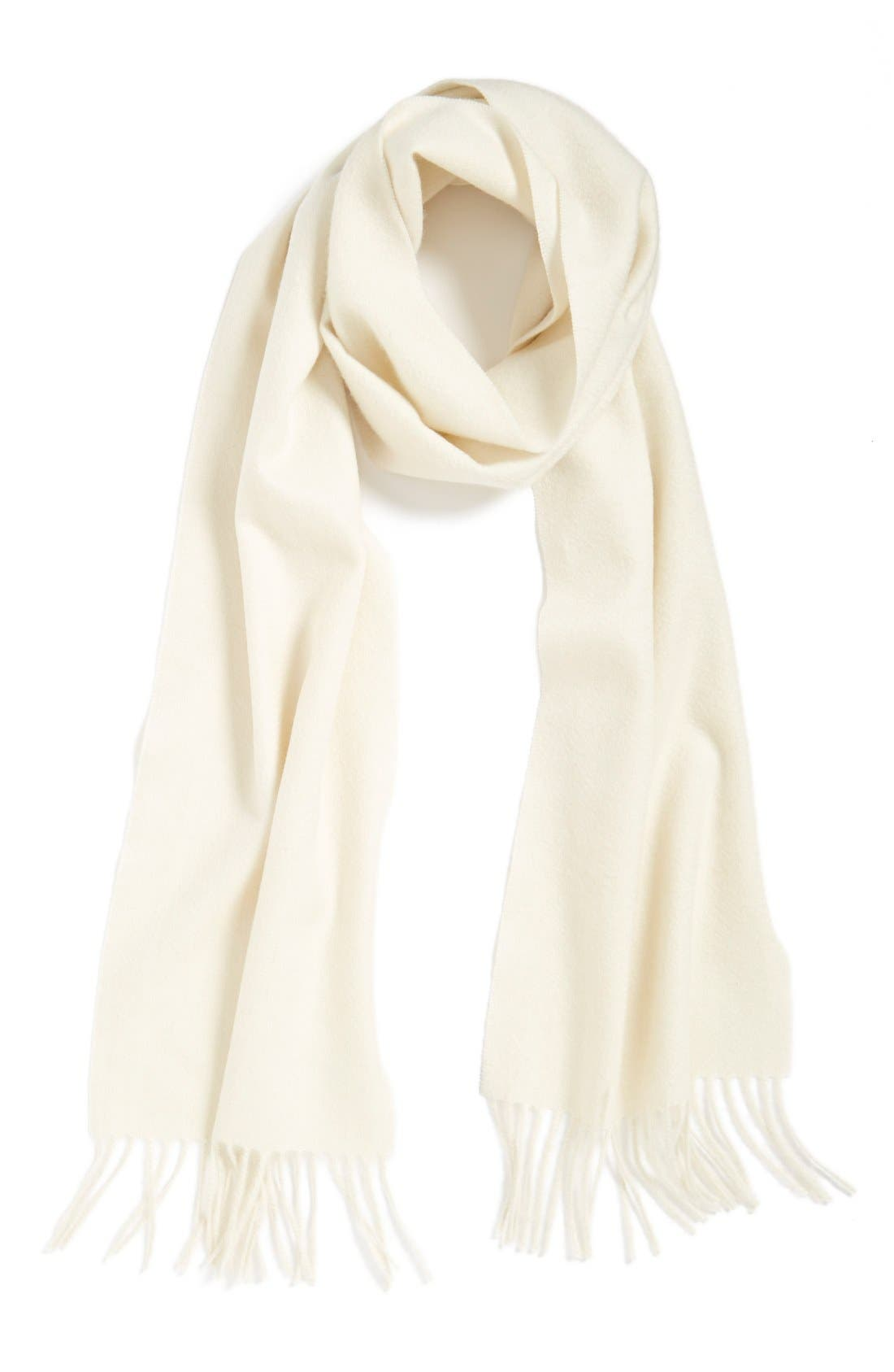 Solid Woven Cashmere Scarf,                             Main thumbnail 16, color,