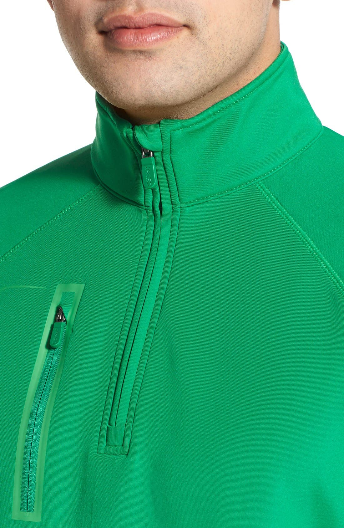XH2O Crawford Stretch Quarter Zip Golf Pullover,                             Alternate thumbnail 45, color,