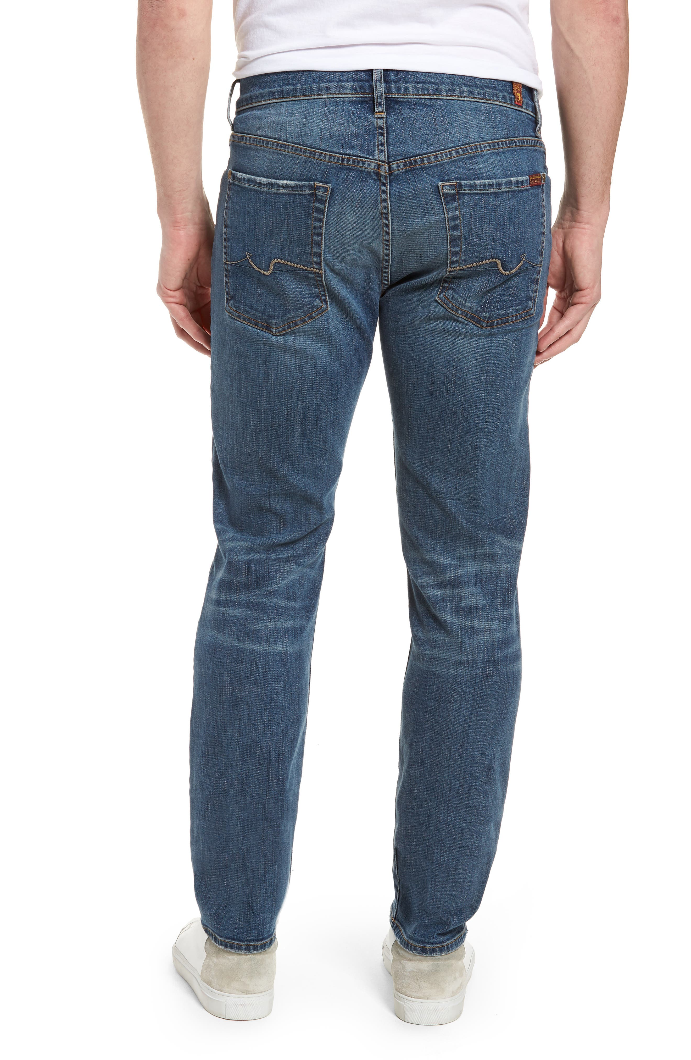 Standard Straight Leg Jeans,                             Alternate thumbnail 2, color,                             BEDROCK