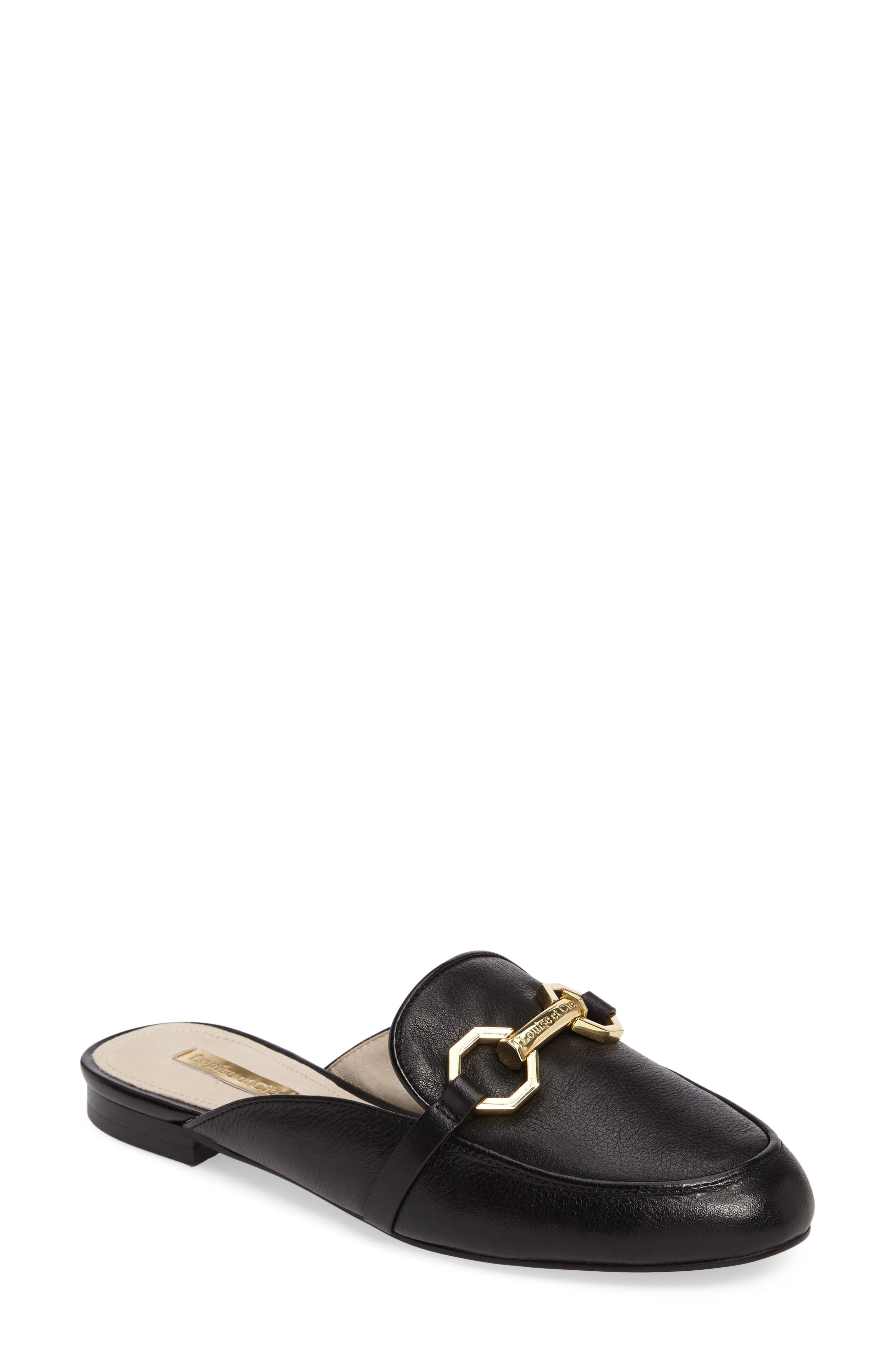Finay Loafer Mule,                             Main thumbnail 1, color,                             002