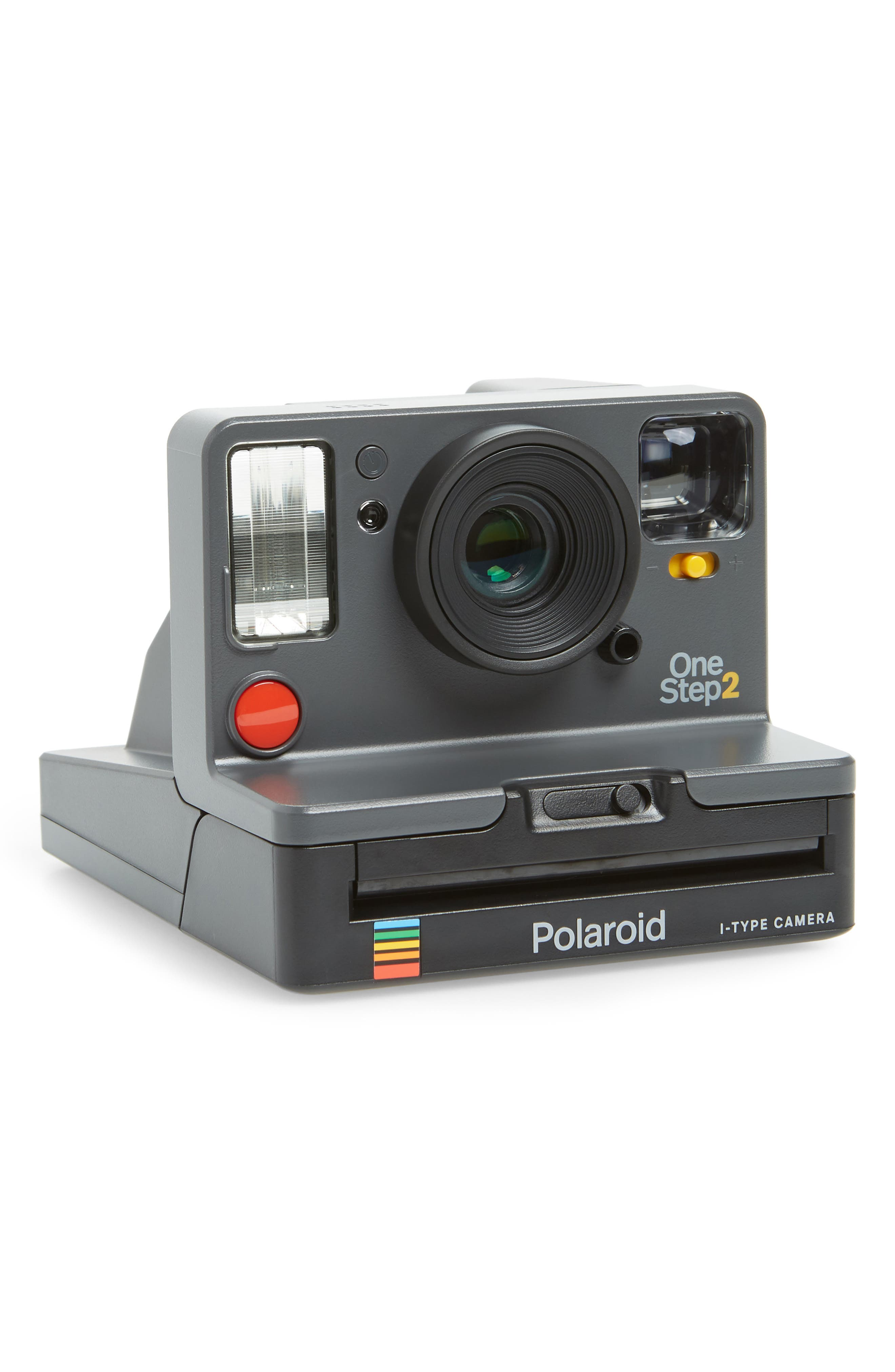 Impossible Project Polaroid OneStep 2 Analog Instant Camera, Main, color, GRAPHITE