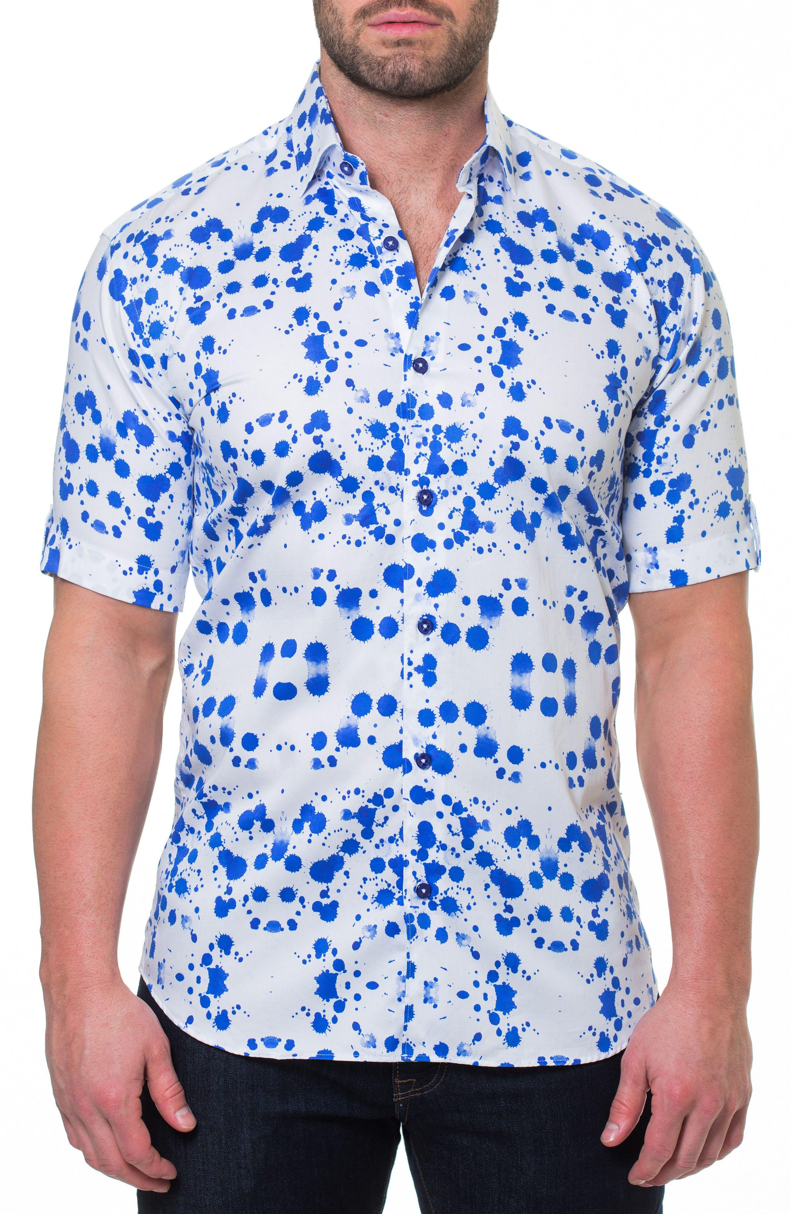 Fresh Drop Sport Shirt,                         Main,                         color, 110