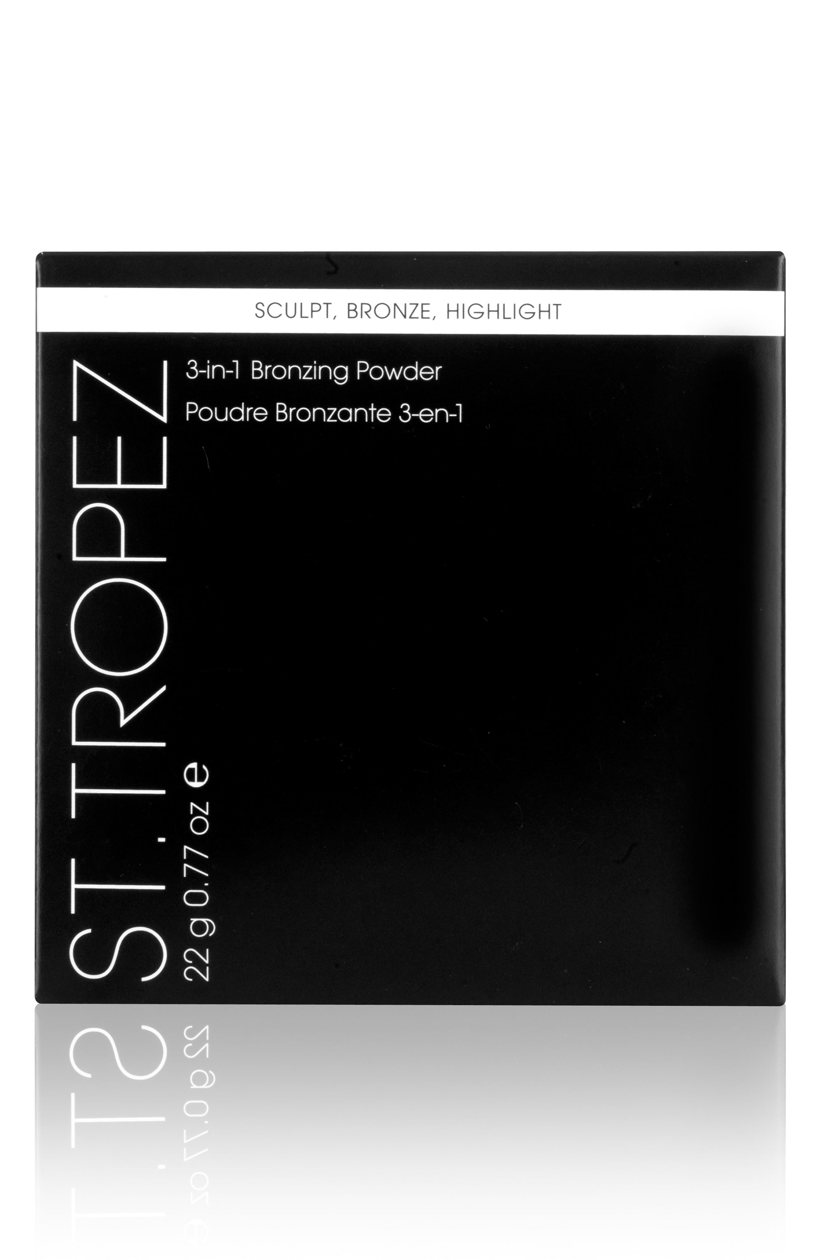 3-in-1 Bronzing Powder,                             Alternate thumbnail 4, color,                             NO COLOR
