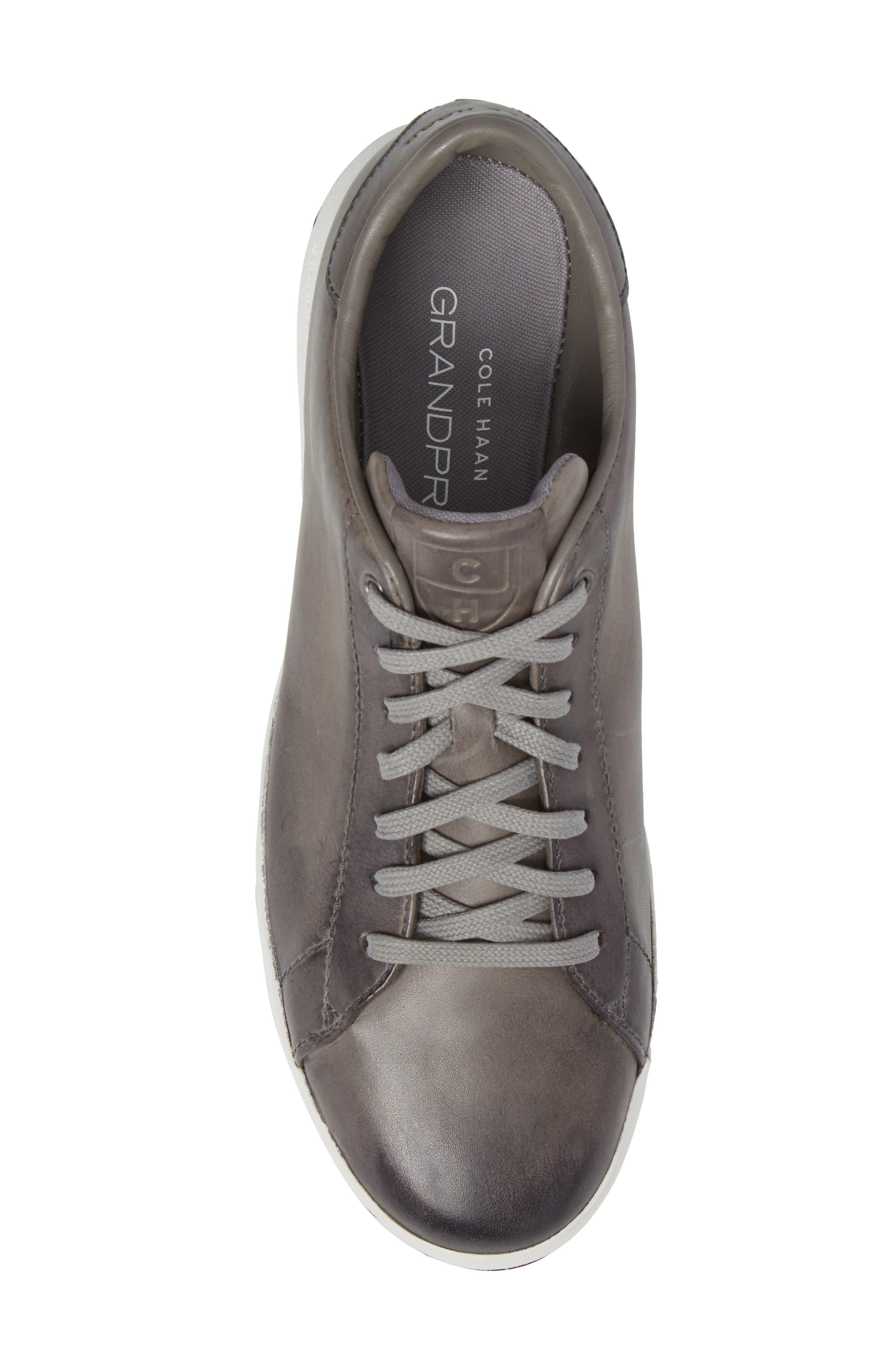 GrandPro Tennis Sneaker,                             Alternate thumbnail 5, color,                             IRONSTONE GRAY HANDSTAIN