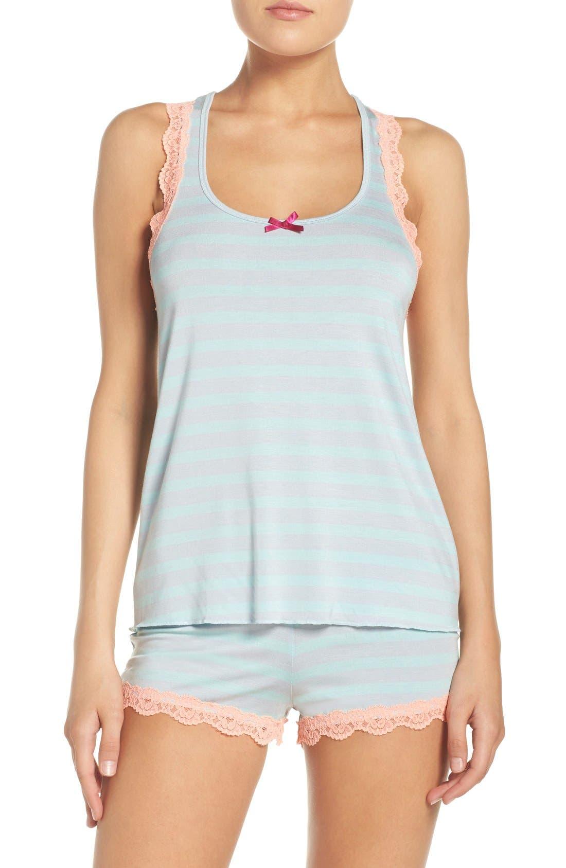 All Amercian Short Pajamas,                             Main thumbnail 5, color,