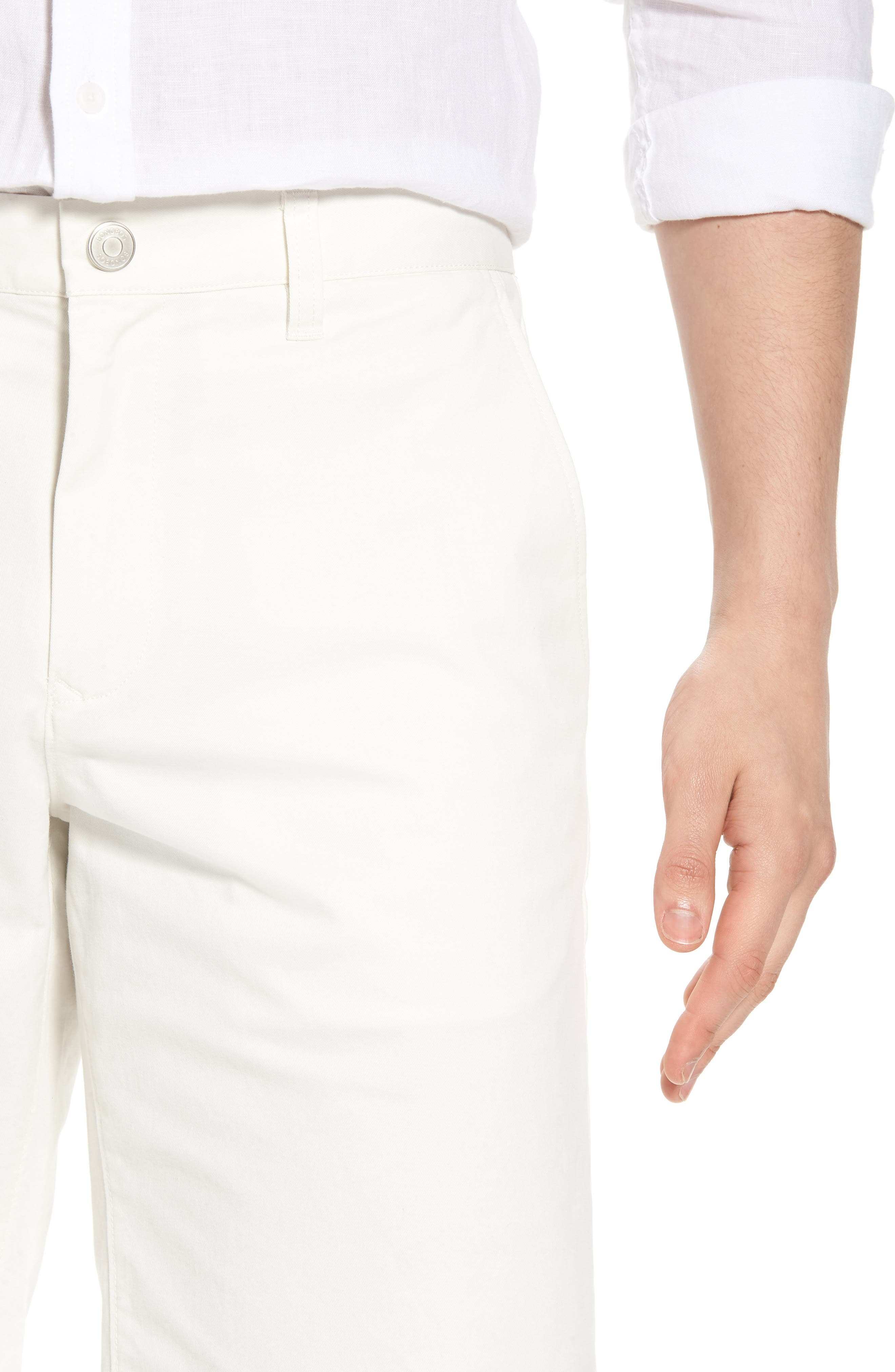Stretch Washed Chino 11-Inch Shorts,                             Alternate thumbnail 4, color,                             100