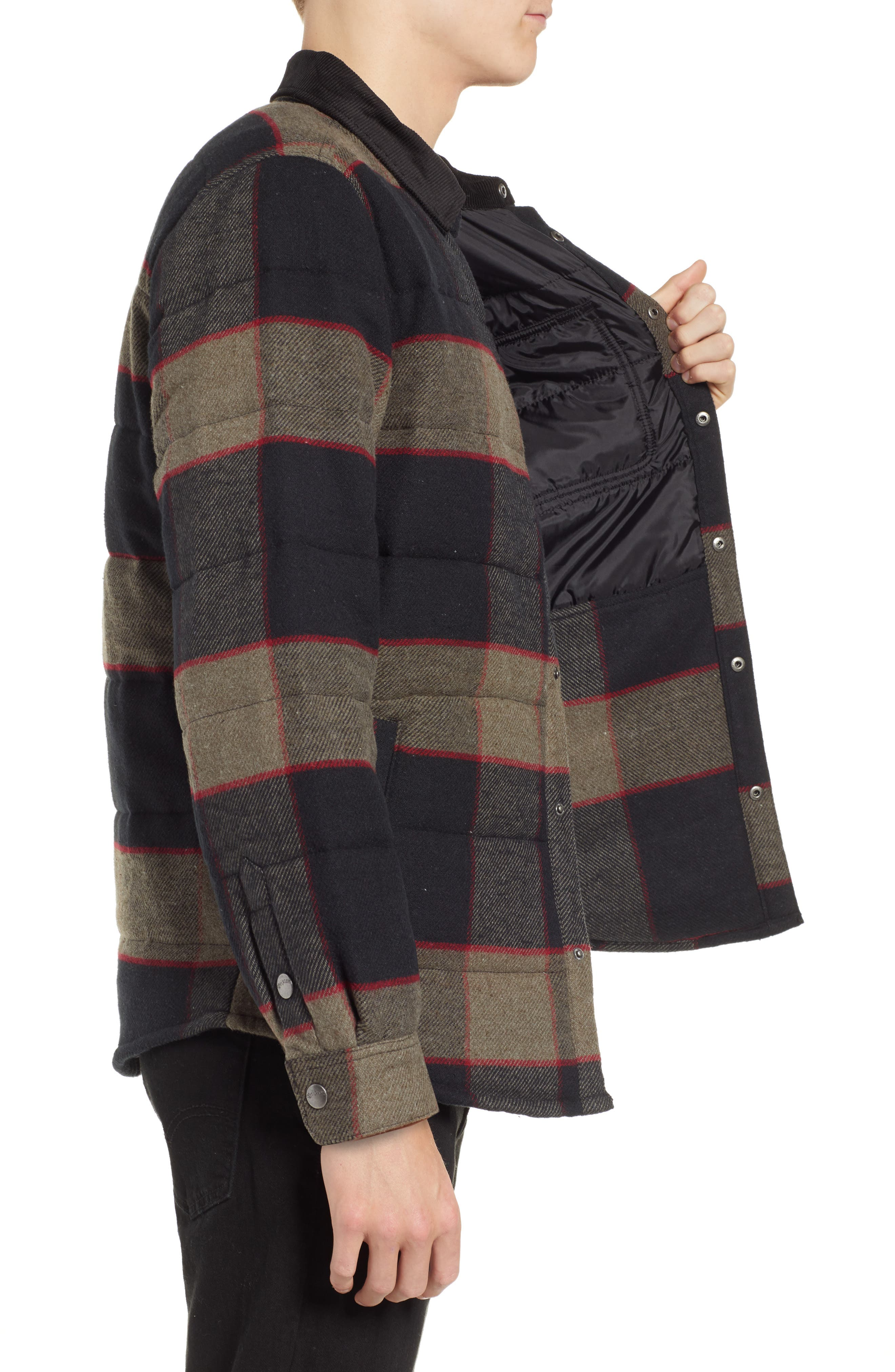'Cass' Quilted Jacket,                             Alternate thumbnail 15, color,