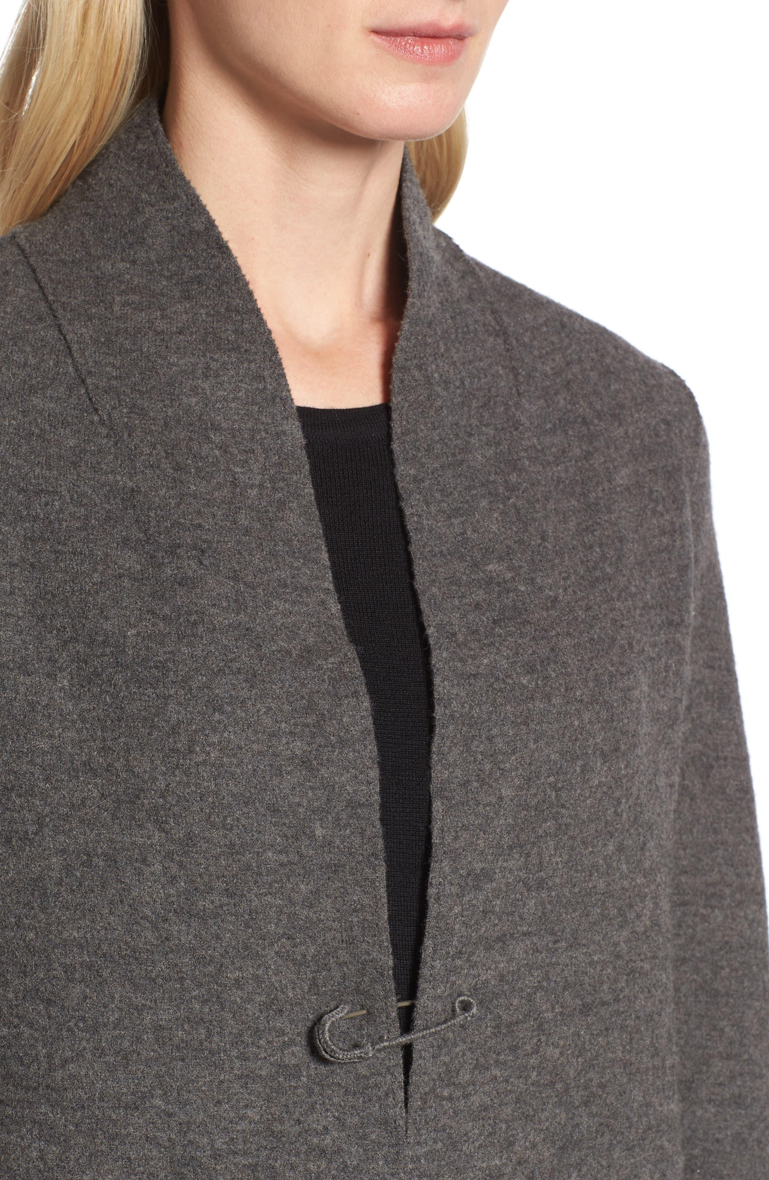 Boiled Wool Jacket,                             Alternate thumbnail 4, color,                             210