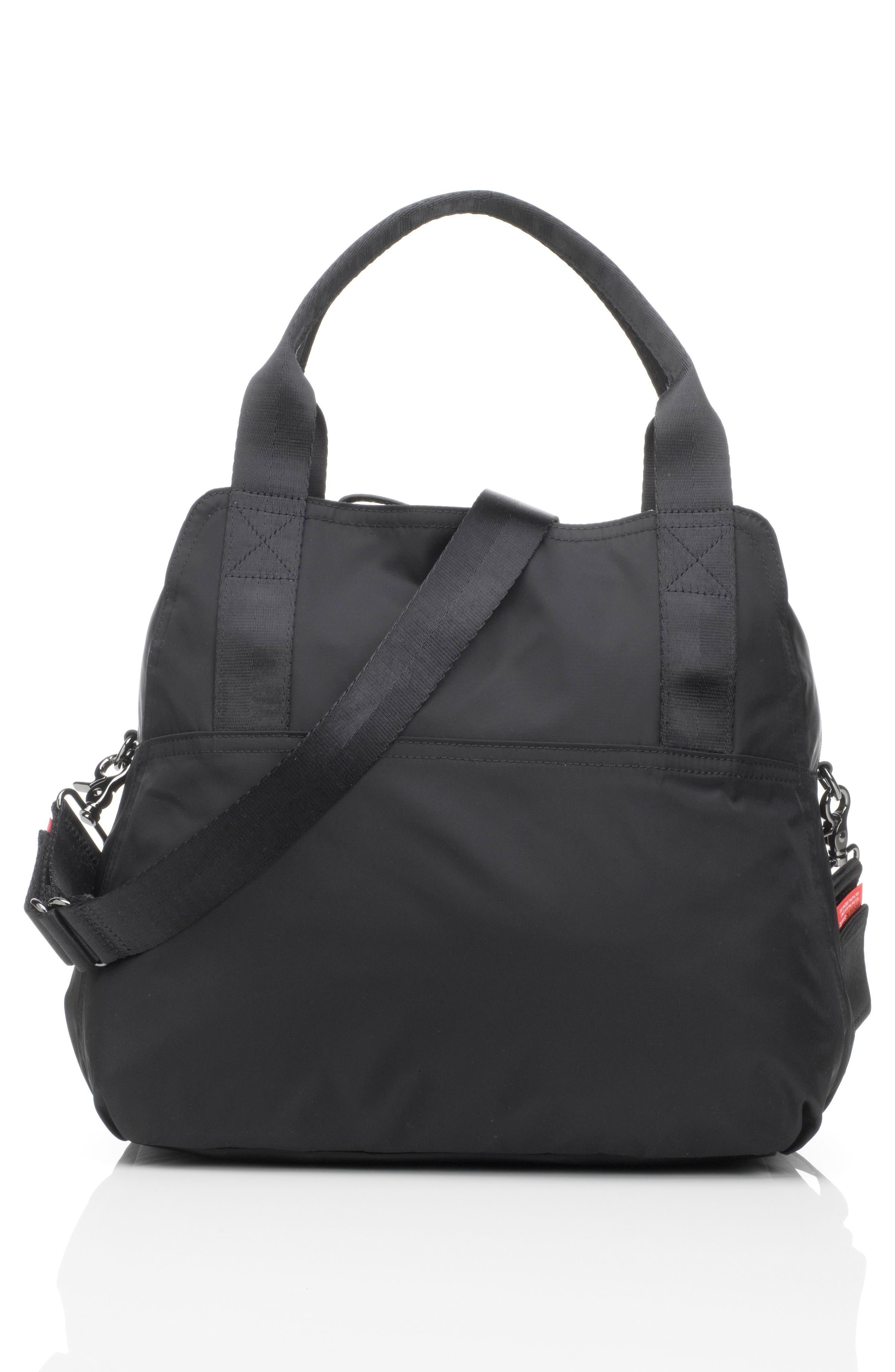 Alexa Luxe Diaper Bag,                             Alternate thumbnail 2, color,                             BLACK