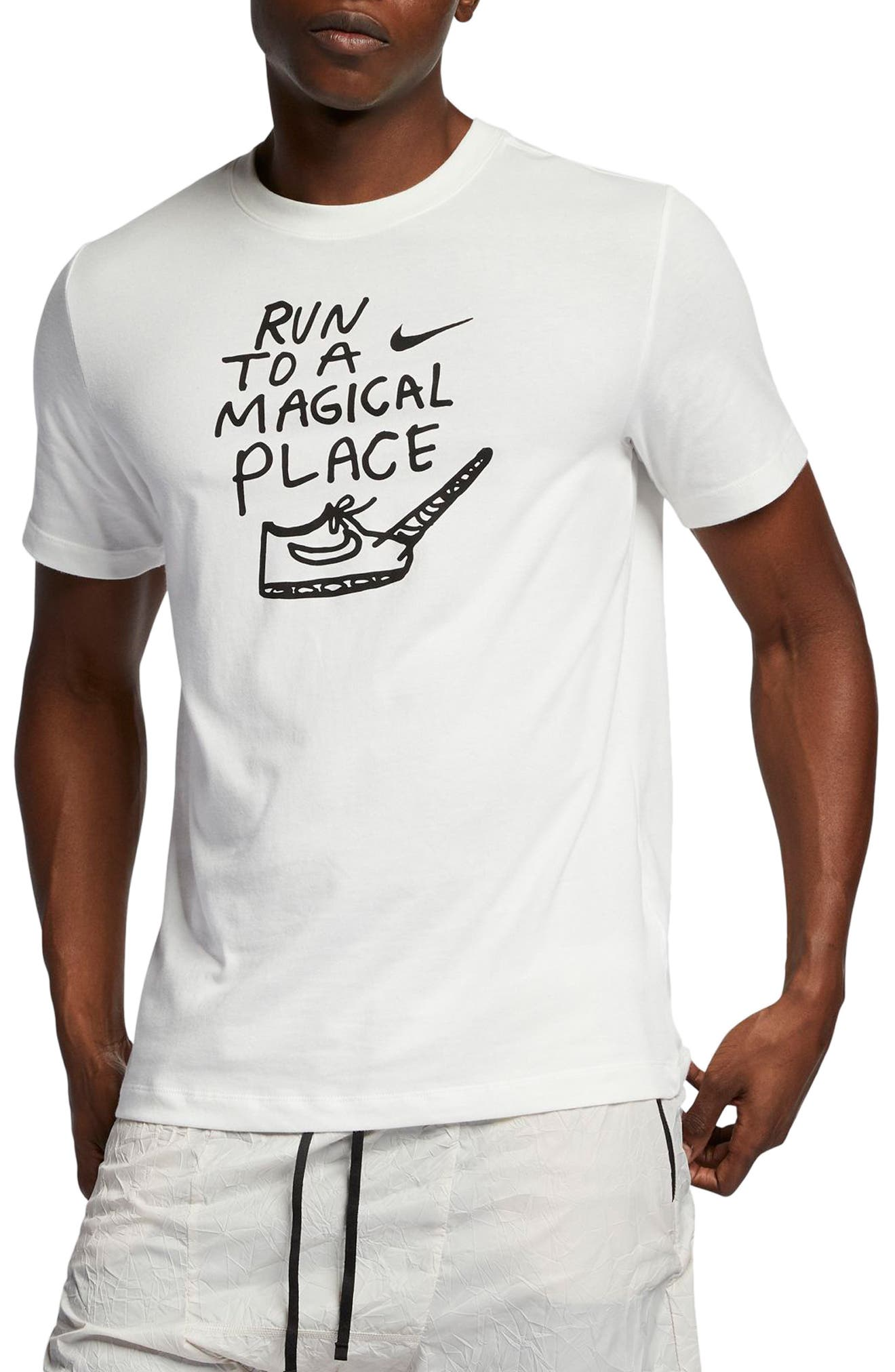 Nike Dry Magical Place T-Shirt White