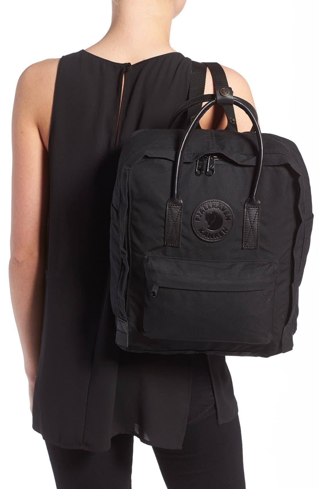 'Kånken No. 2' Water Resistant Backpack,                             Alternate thumbnail 2, color,                             BLACK
