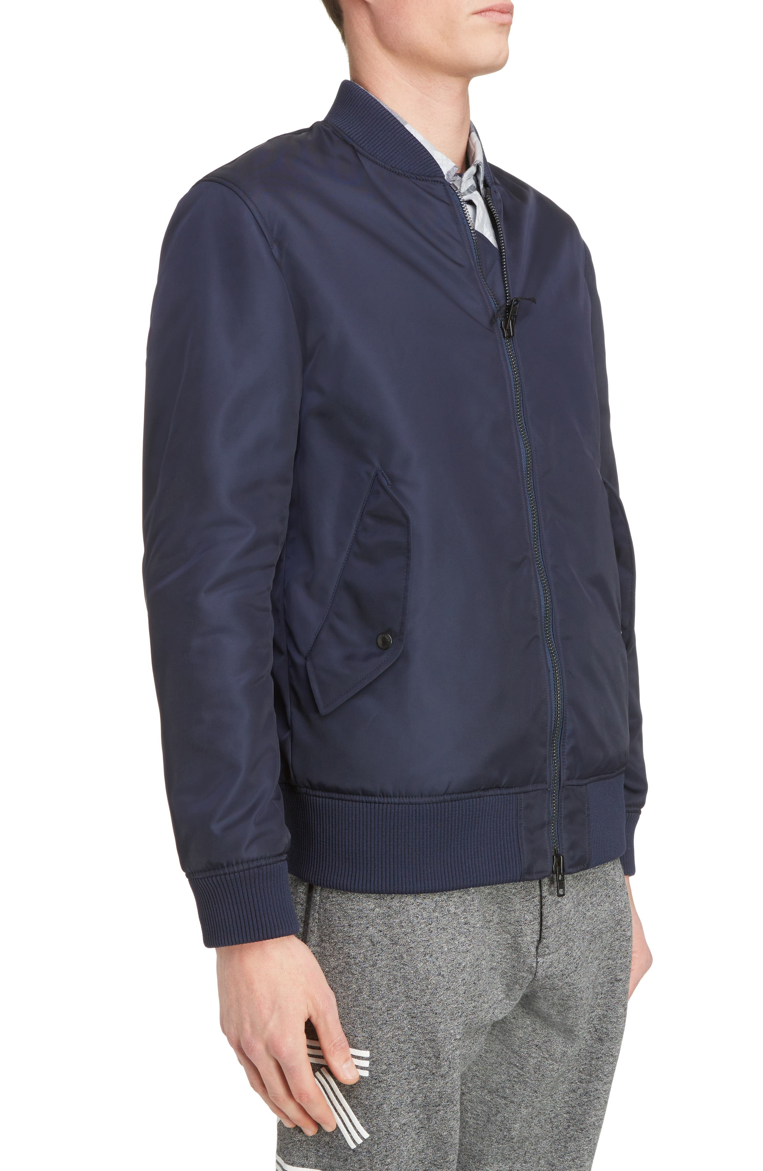 Embroidered Bomber Jacket,                             Alternate thumbnail 4, color,                             402