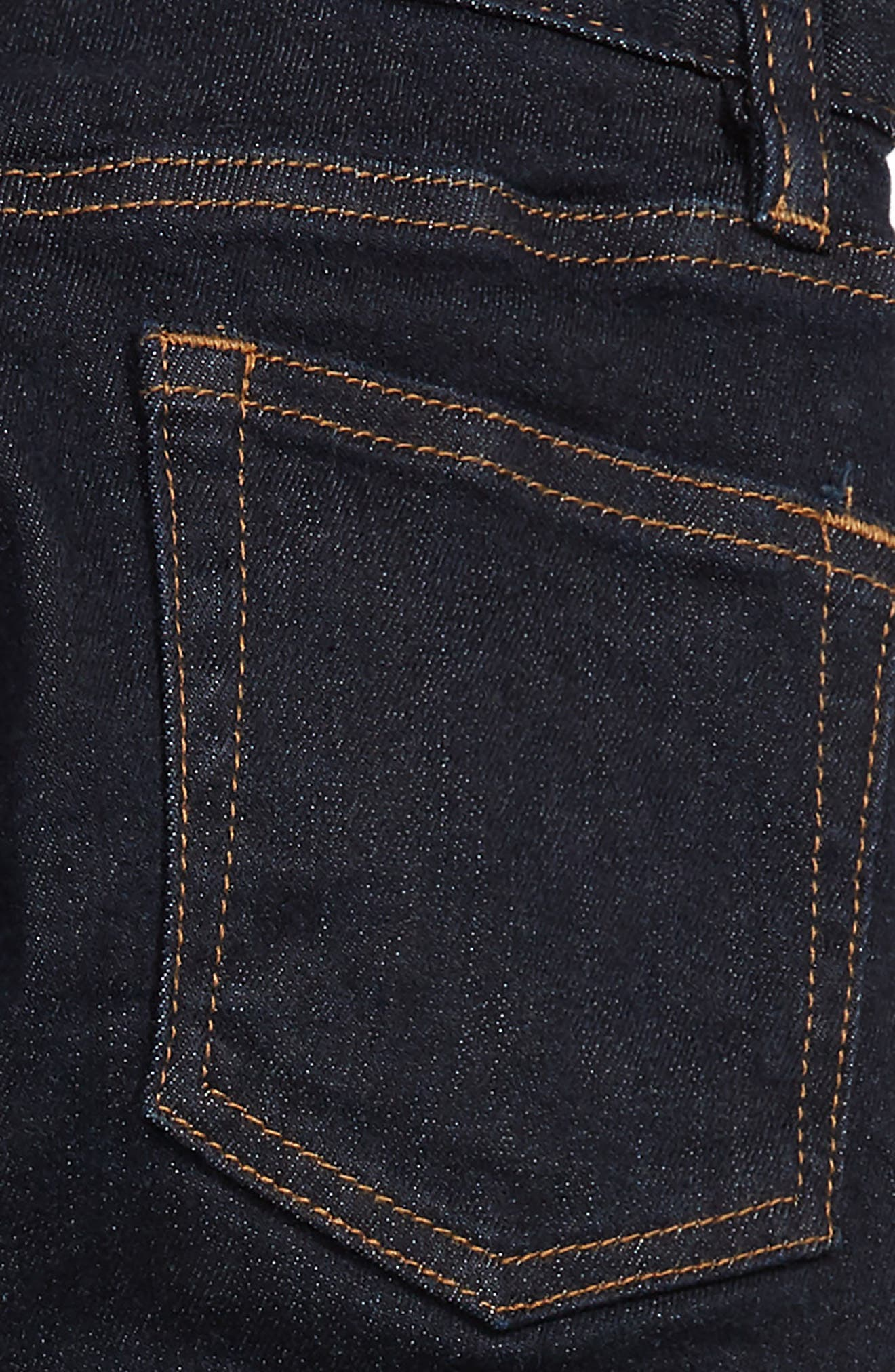 Runaround Slim Fit Lined Jeans,                             Alternate thumbnail 3, color,                             SKINNY RINSE