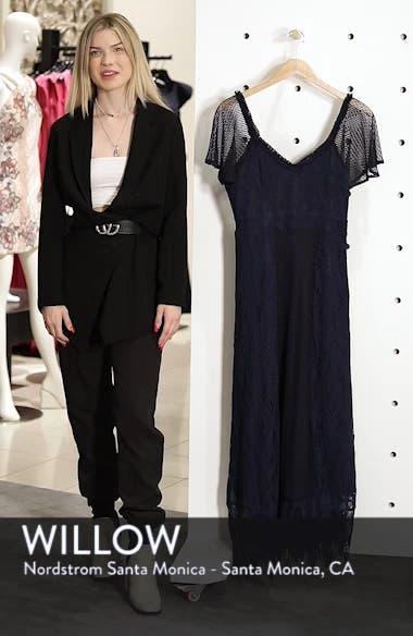 Gloria Lace Midi Dress, sales video thumbnail