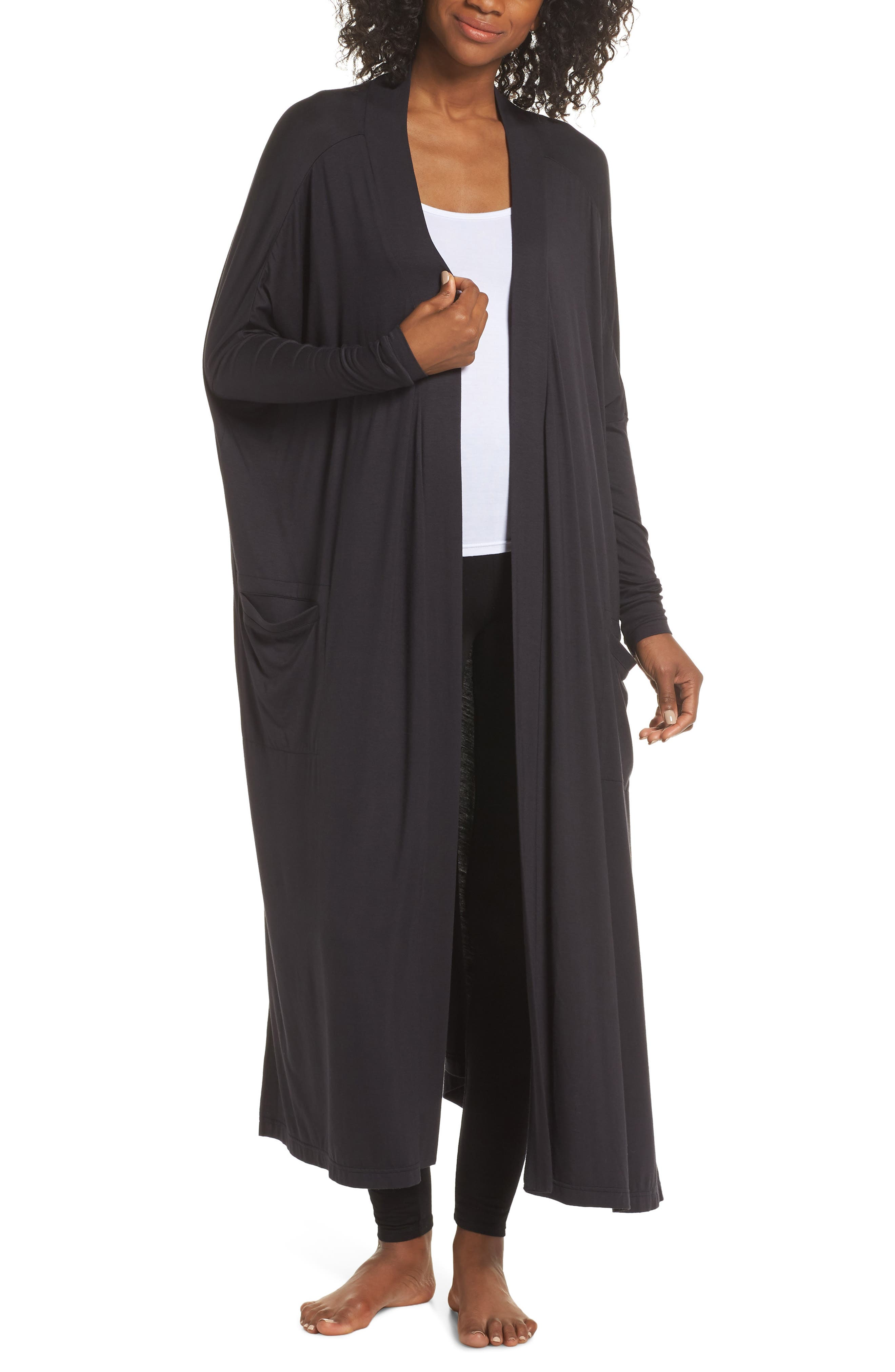 Eleanor Duster,                             Main thumbnail 1, color,                             BLACK