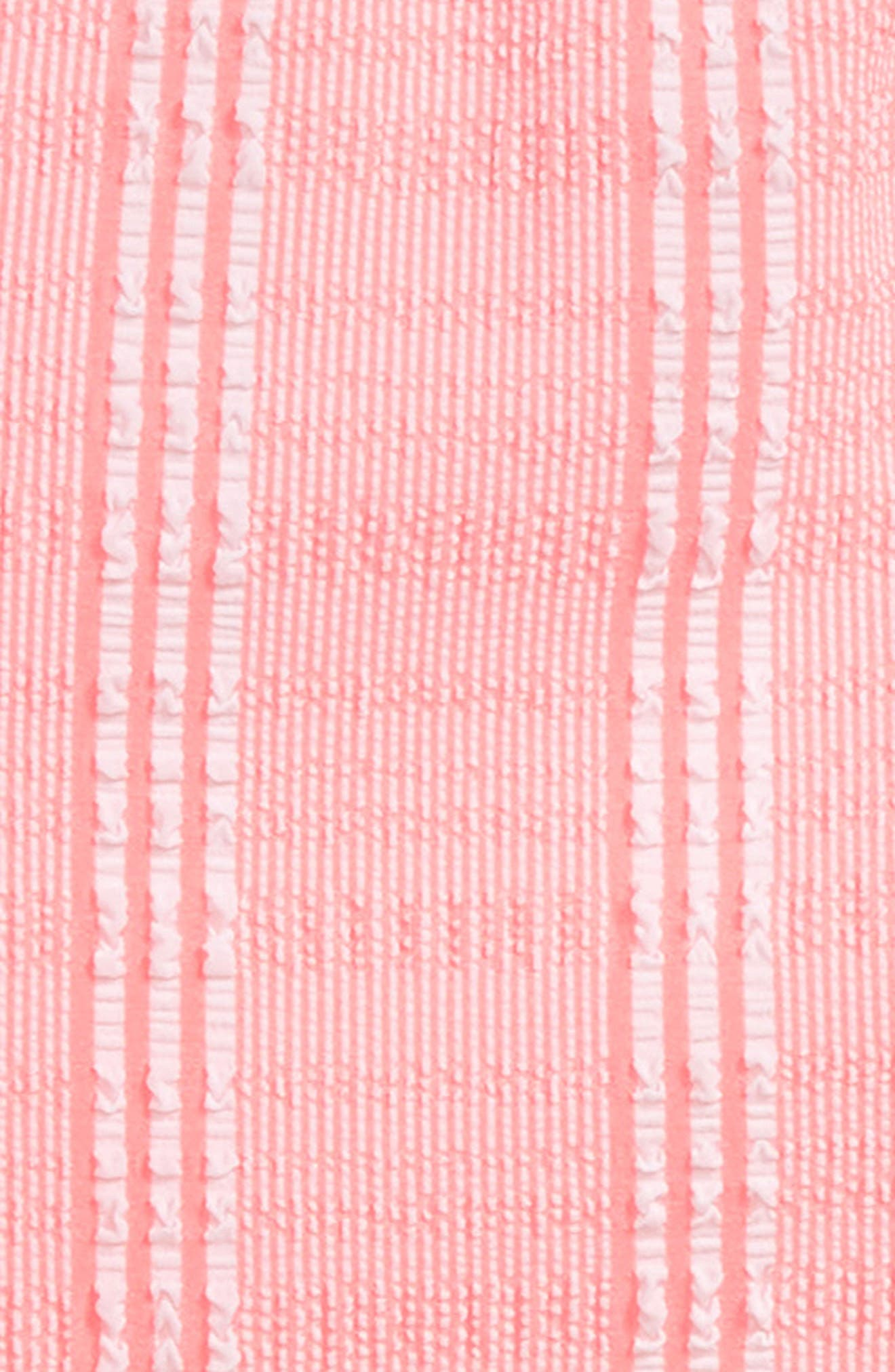 Bohemian Stripe One-Piece Swimsuit,                             Alternate thumbnail 2, color,                             BLOSSOM PINK