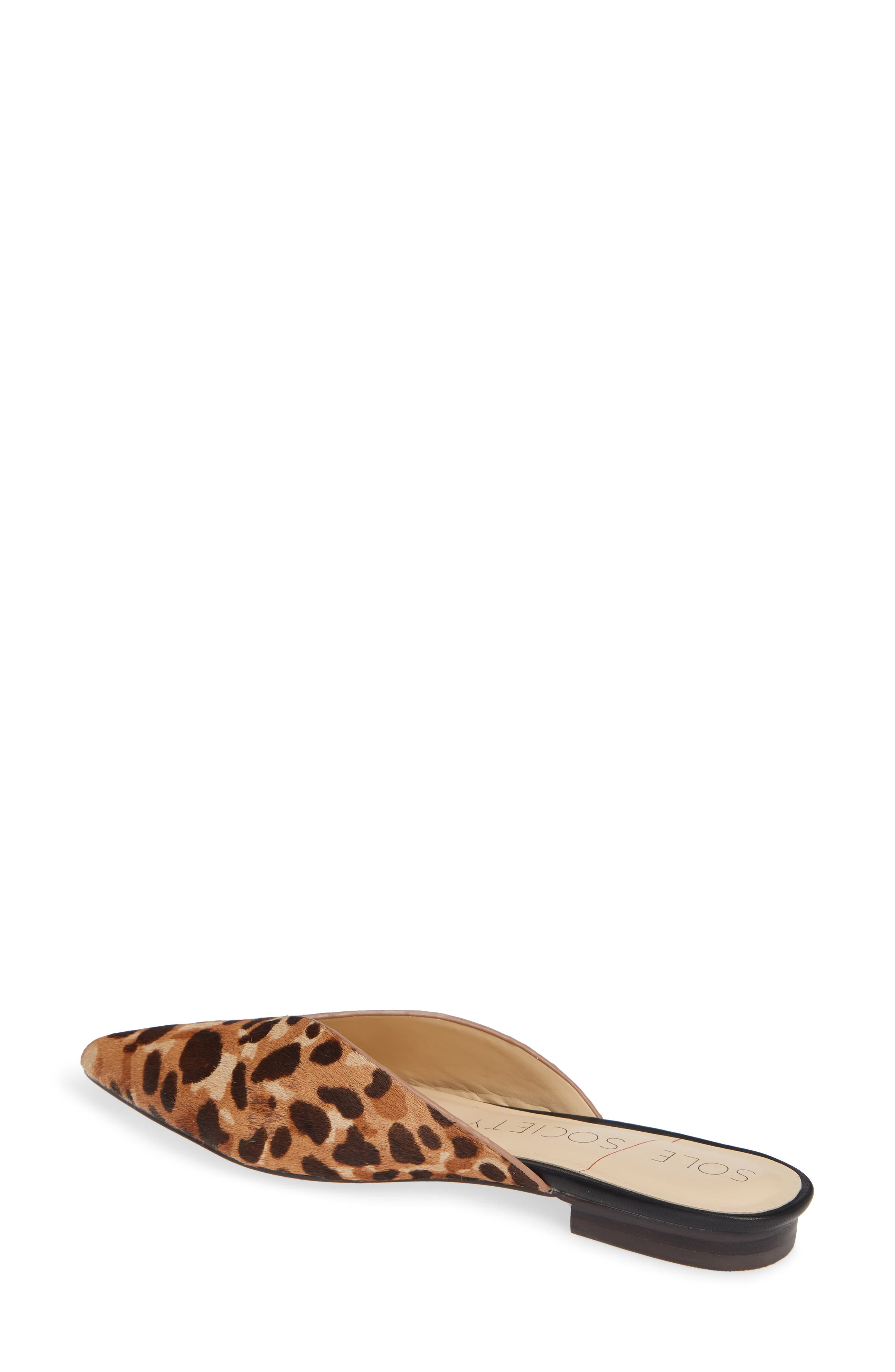 Rosemond Genuine Calf Hair Mule,                             Alternate thumbnail 2, color,                             LEOPARD HAIRCALF