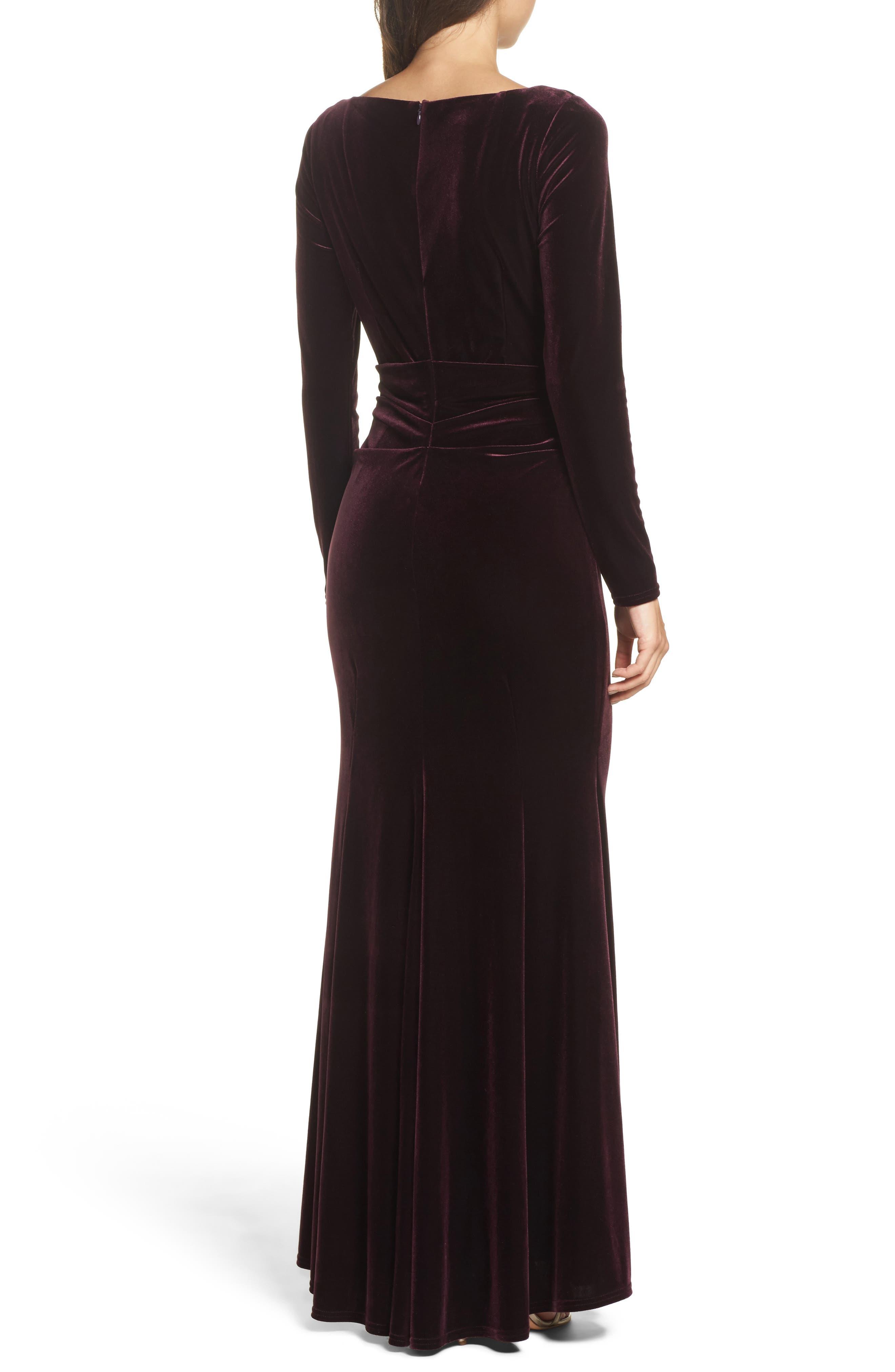 Velvet Gown,                             Alternate thumbnail 9, color,
