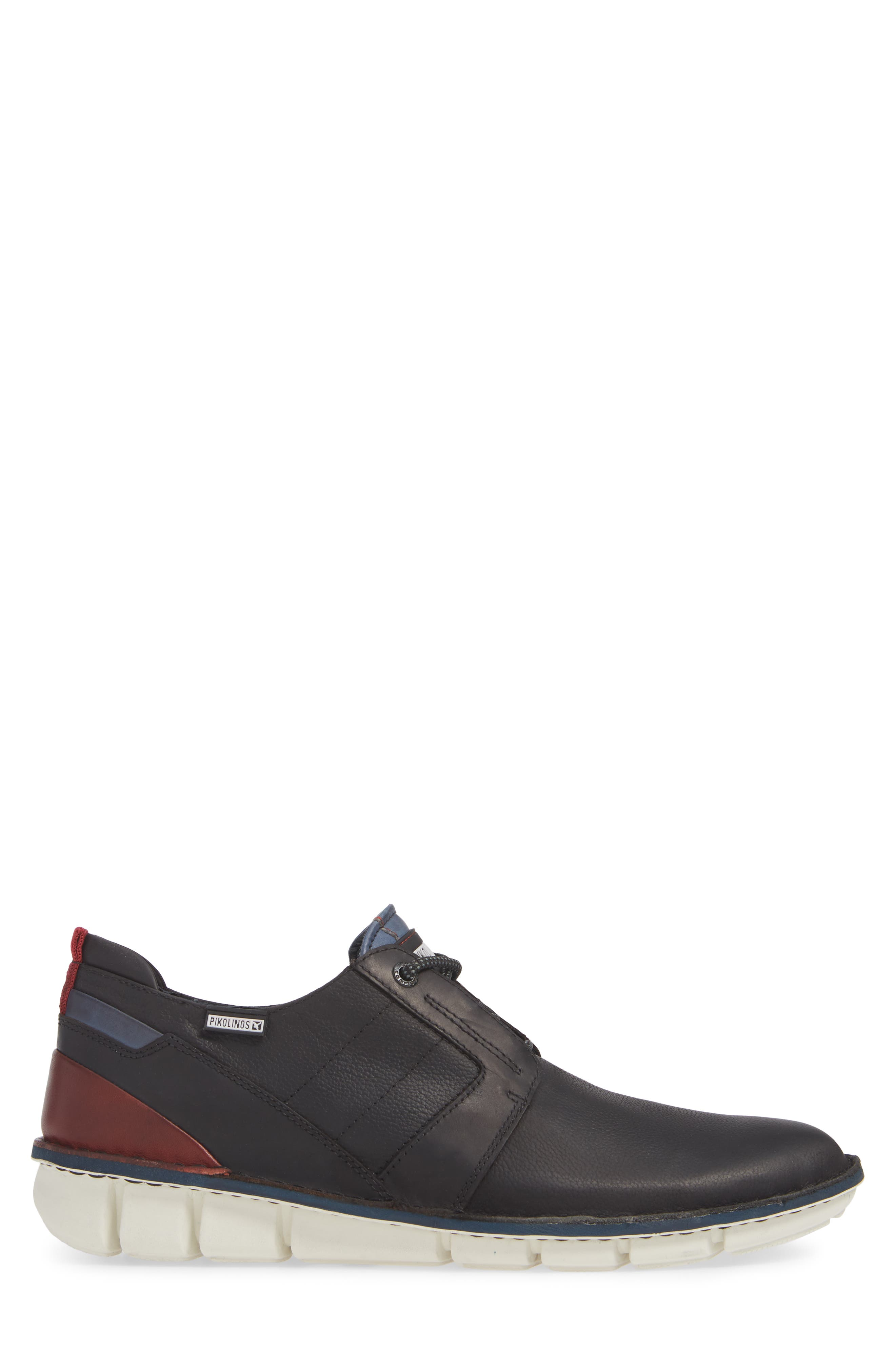 Tudela Plain Toe Derby,                             Alternate thumbnail 3, color,                             BLACK BLACK