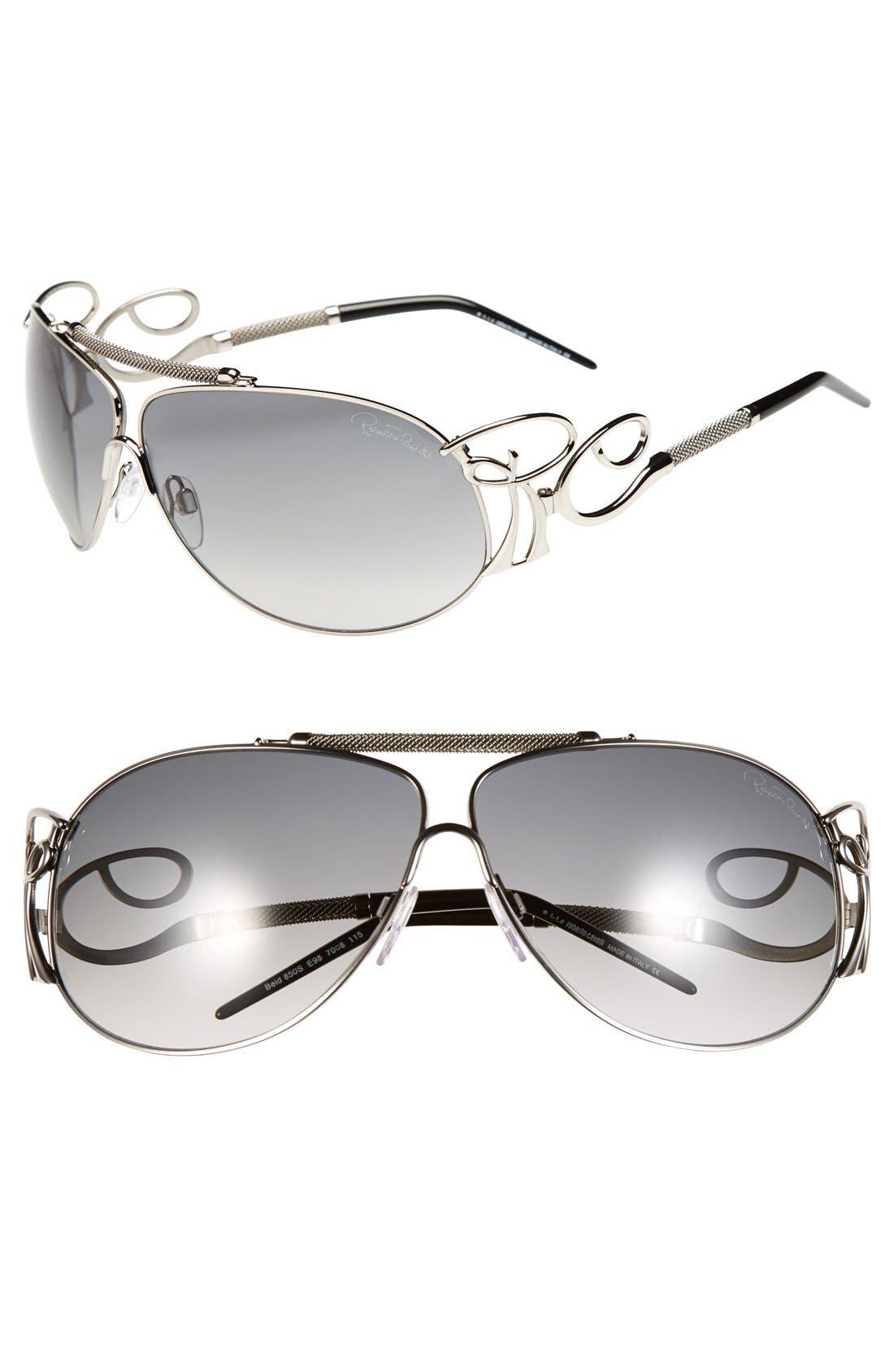 'Beid' 70mm Sunglasses, Main, color, 040