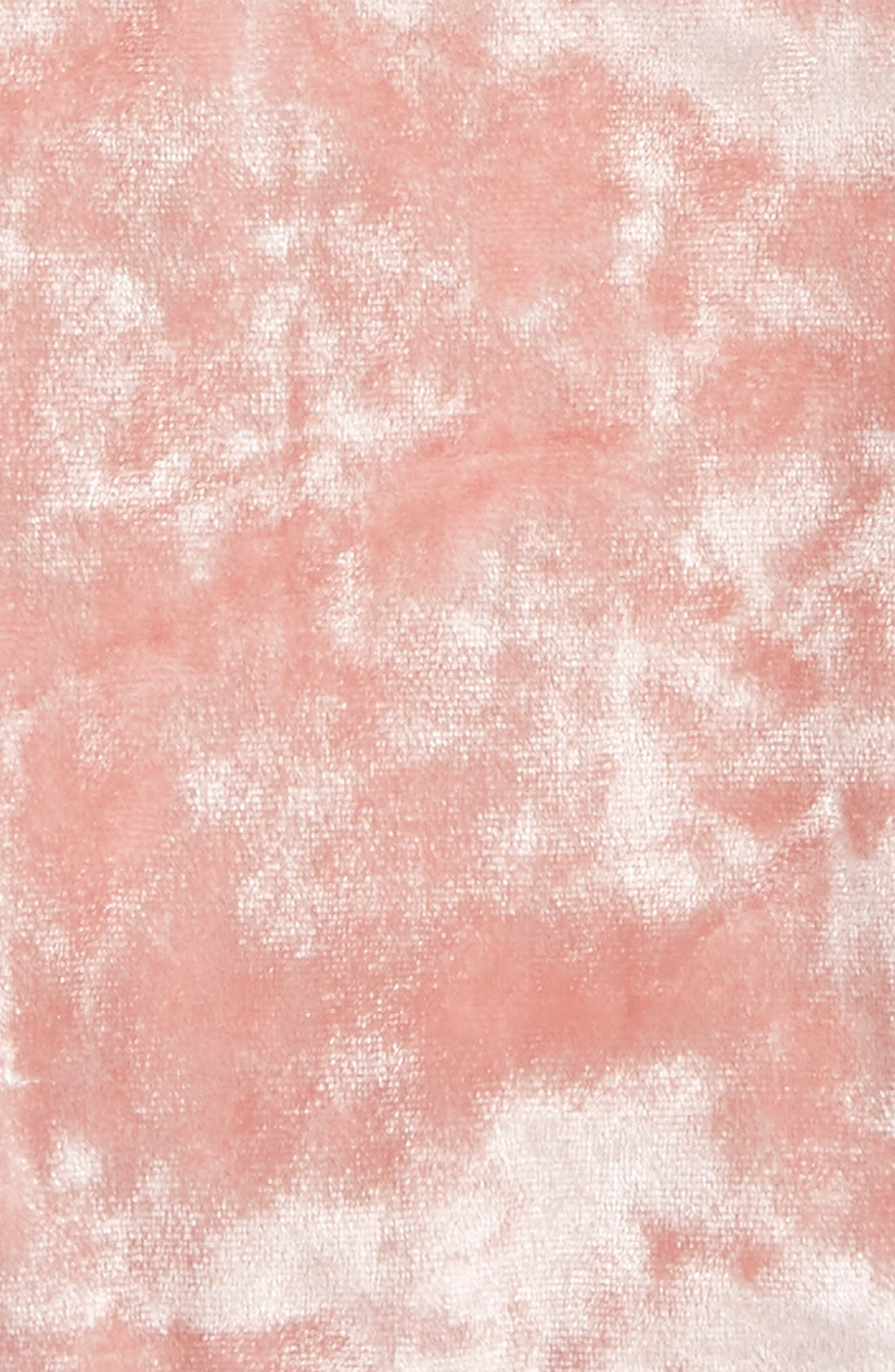 Velvet Bralette,                             Alternate thumbnail 4, color,
