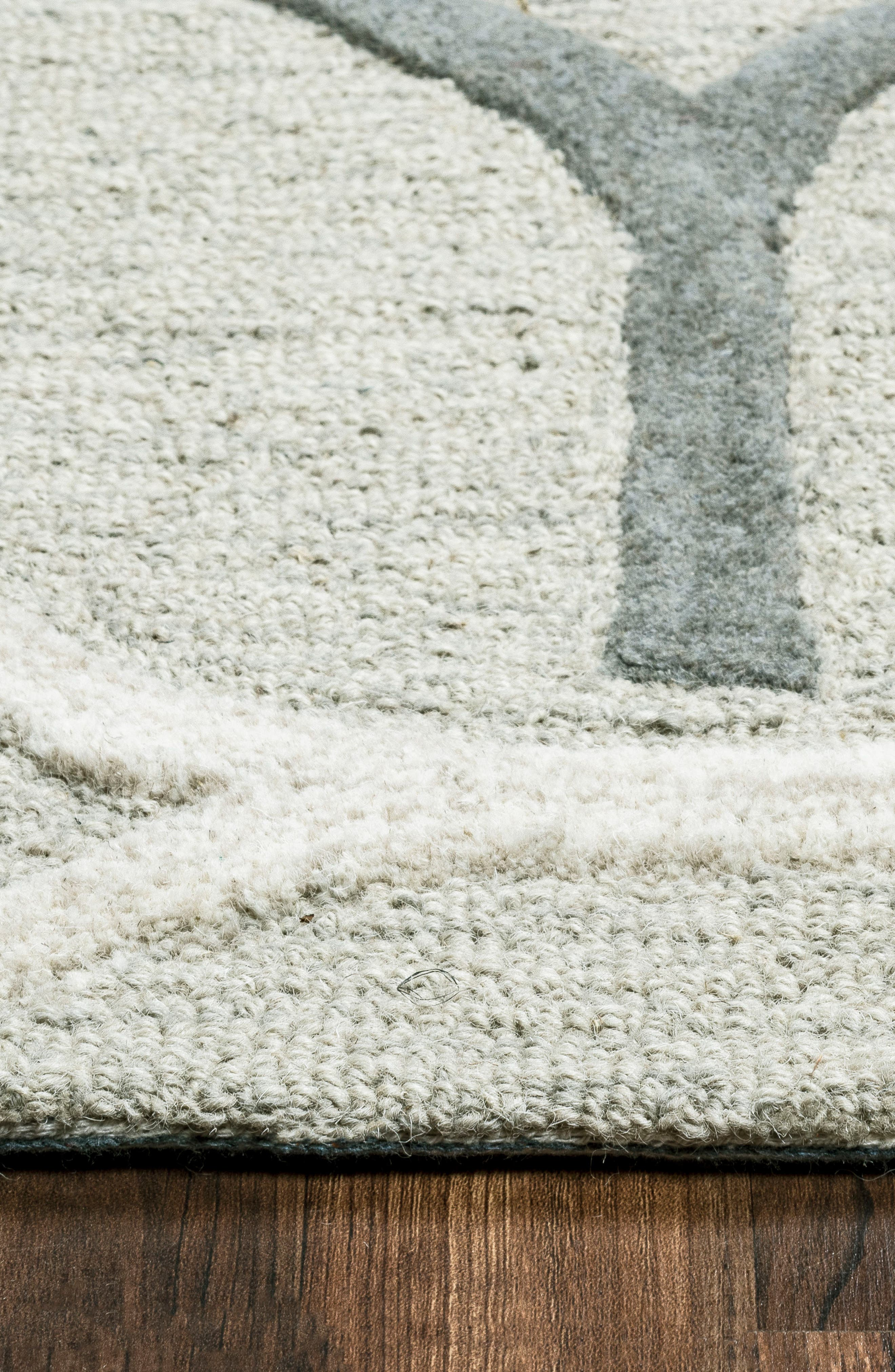 'Caterine Ovals' Hand Tufted Wool Area Rug,                             Alternate thumbnail 3, color,                             020