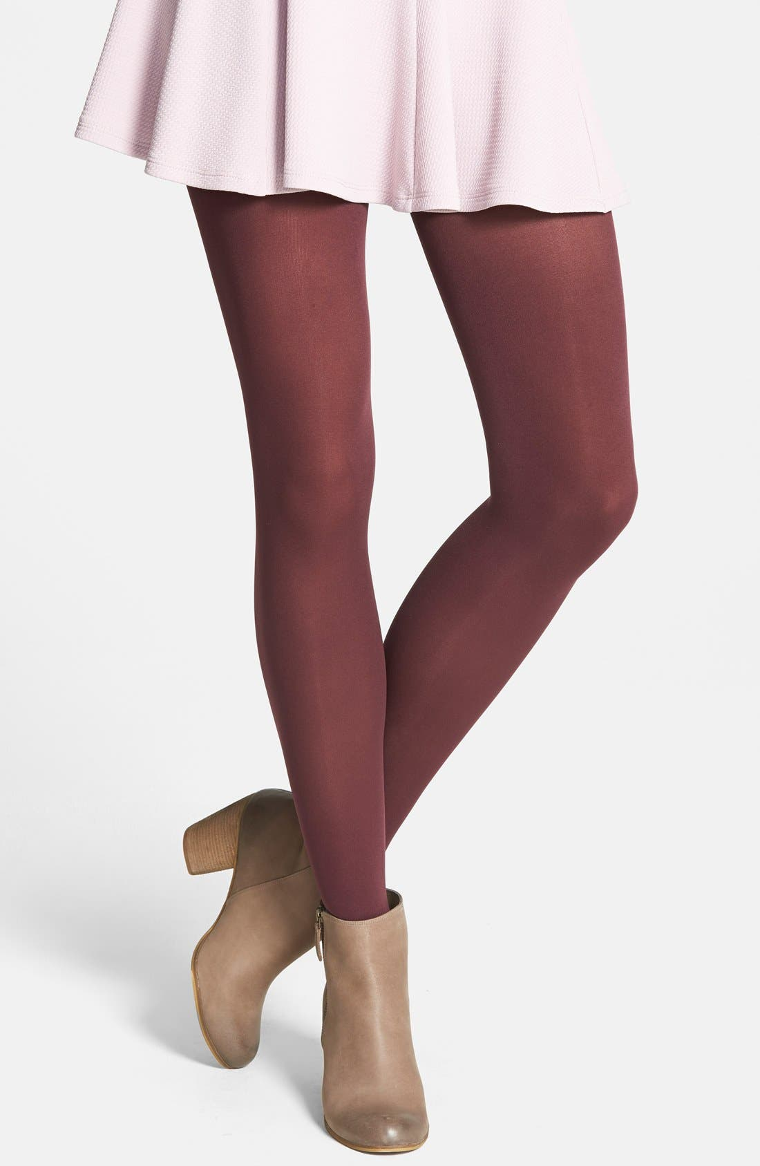 'Everyday' Opaque Tights,                             Main thumbnail 9, color,