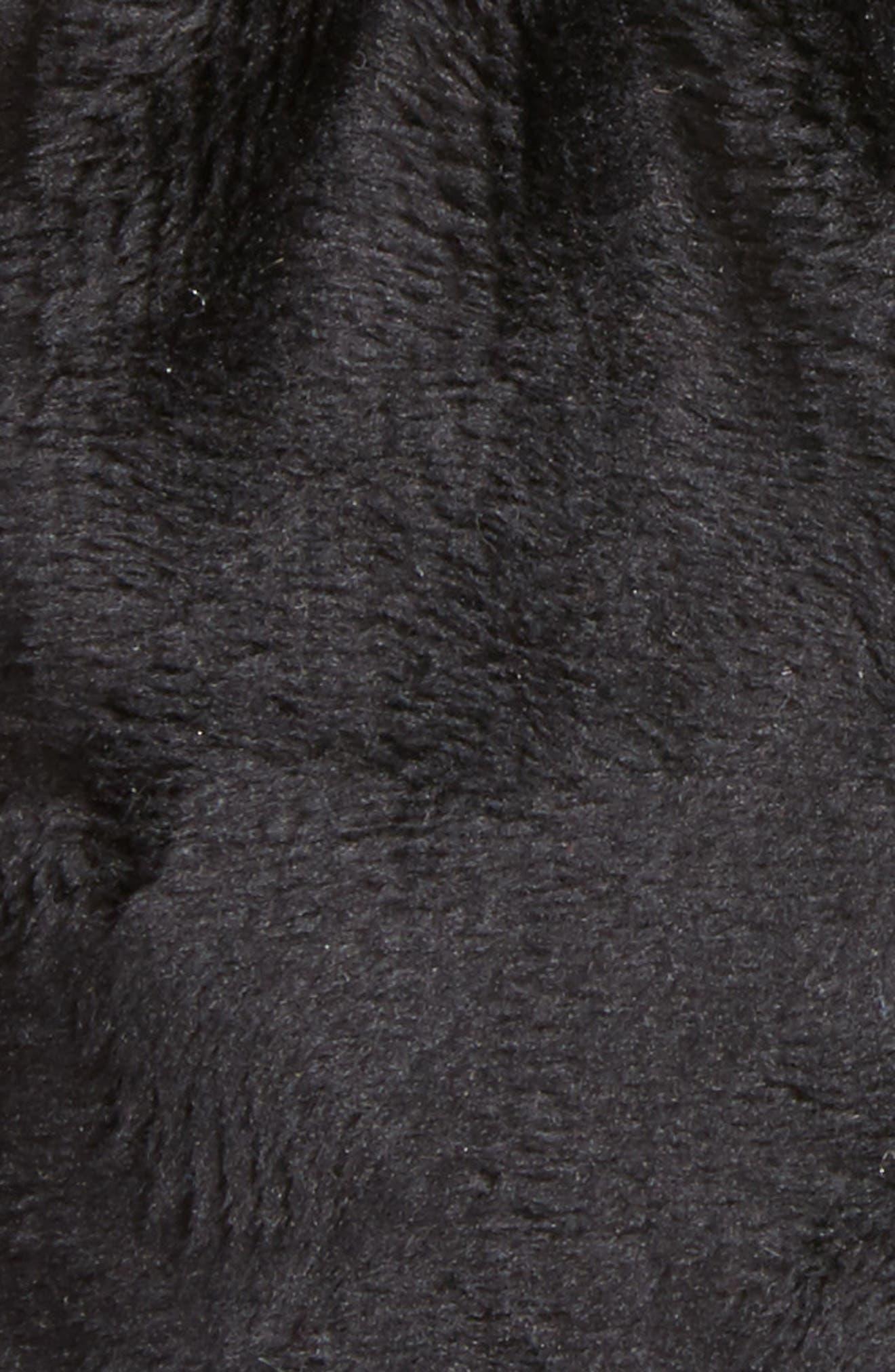 Solid Black Footies,                             Alternate thumbnail 2, color,                             000