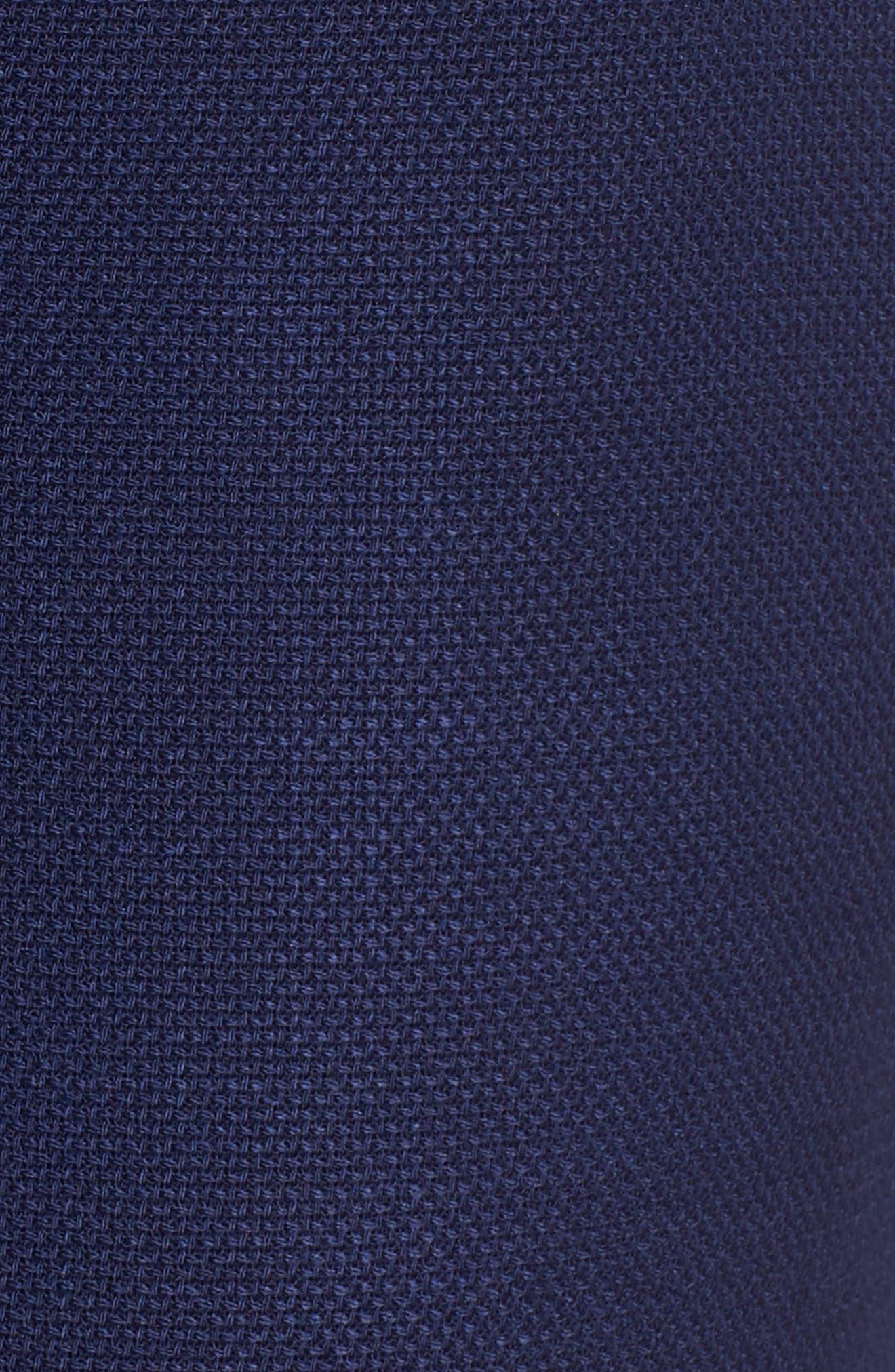 Tibalena Textured Stretch Wool Suit Pants,                             Alternate thumbnail 6, color,                             425