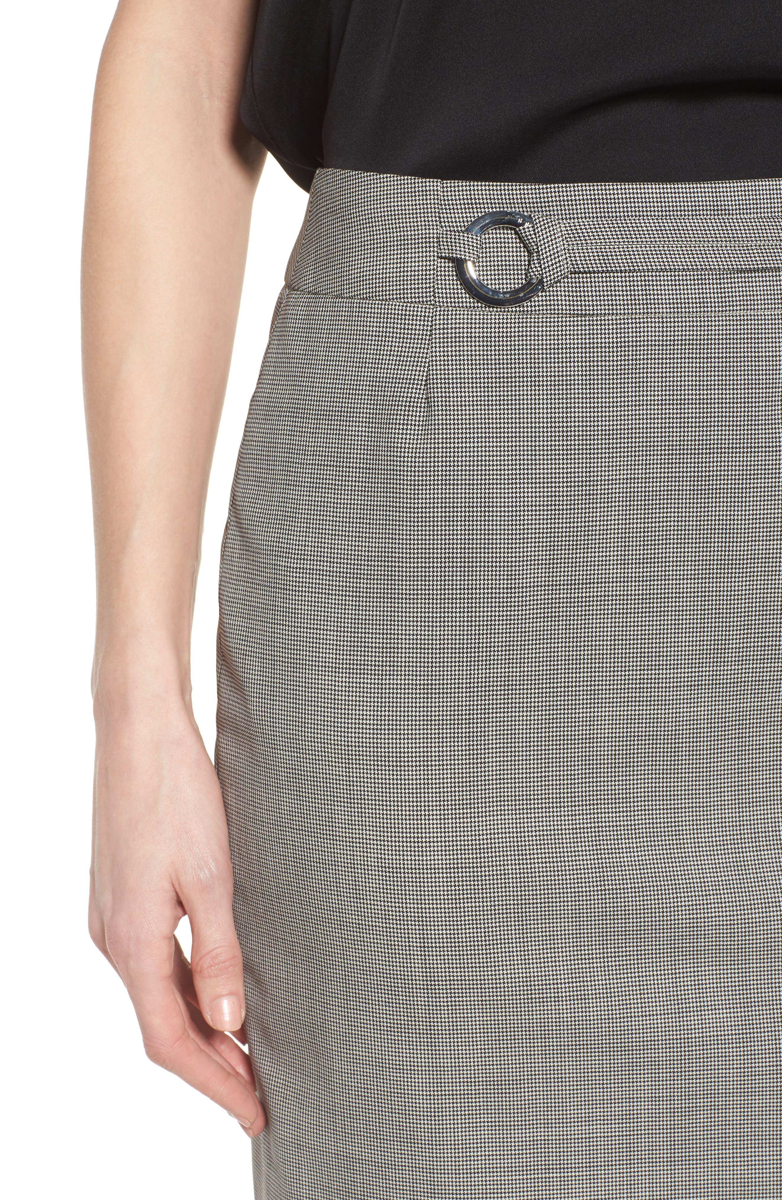 Vavilla Stretch Wool Suit Skirt,                             Alternate thumbnail 7, color,