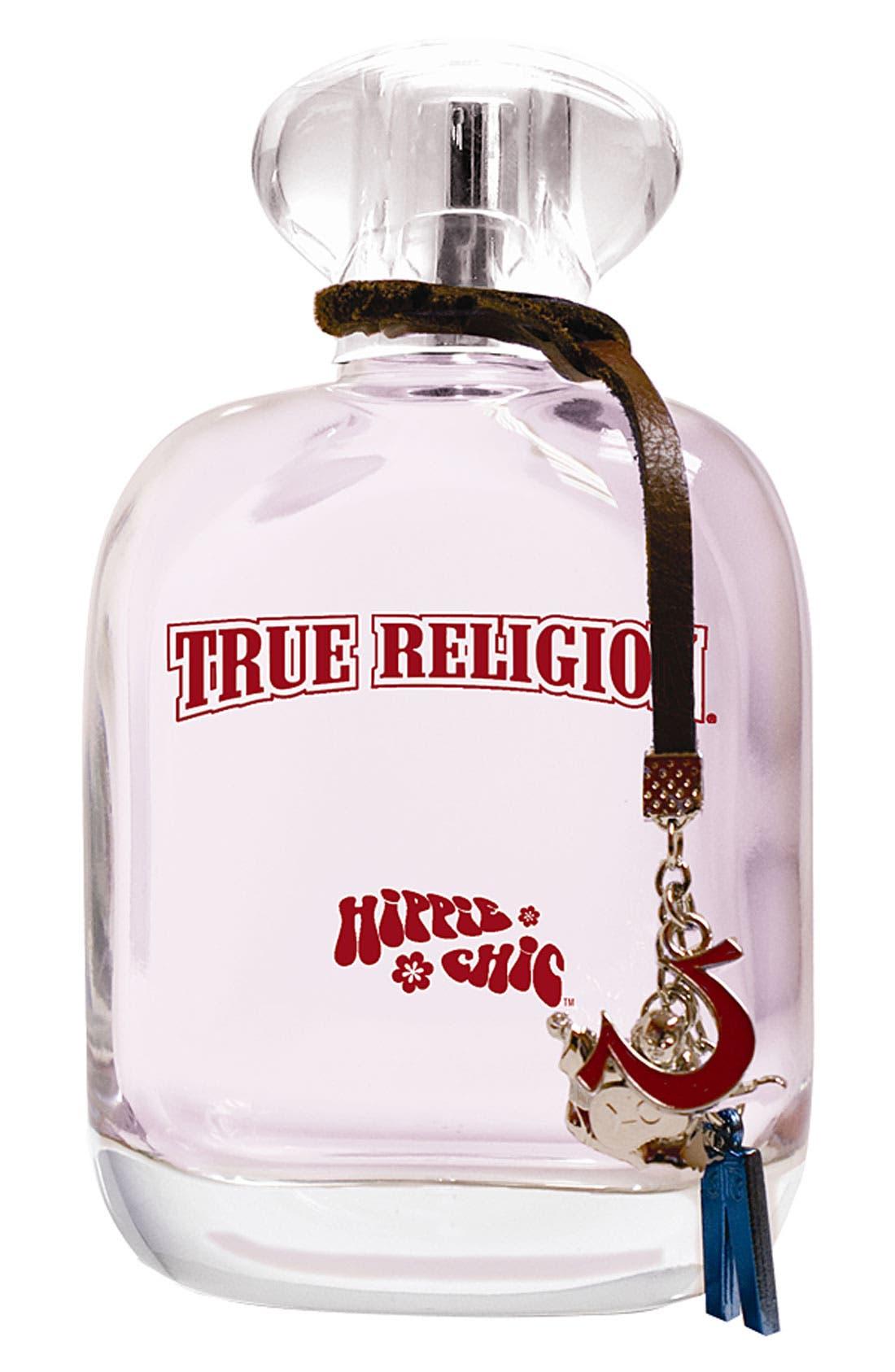 TRUE RELIGION BRAND JEANS,                             True Religion 'Hippie Chic' Eau de Parfum,                             Main thumbnail 1, color,                             000