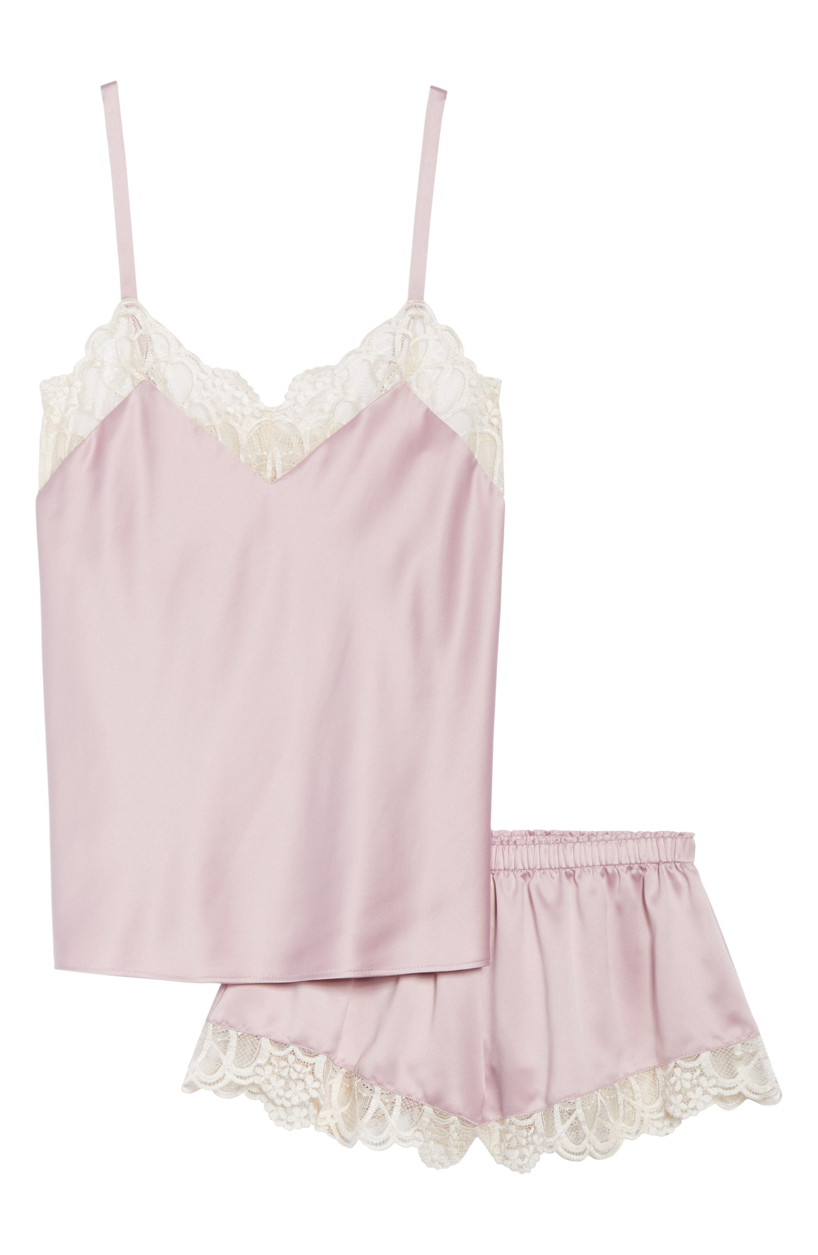 Gabby Short Pajamas,                             Alternate thumbnail 6, color,                             FROSTED LILAC