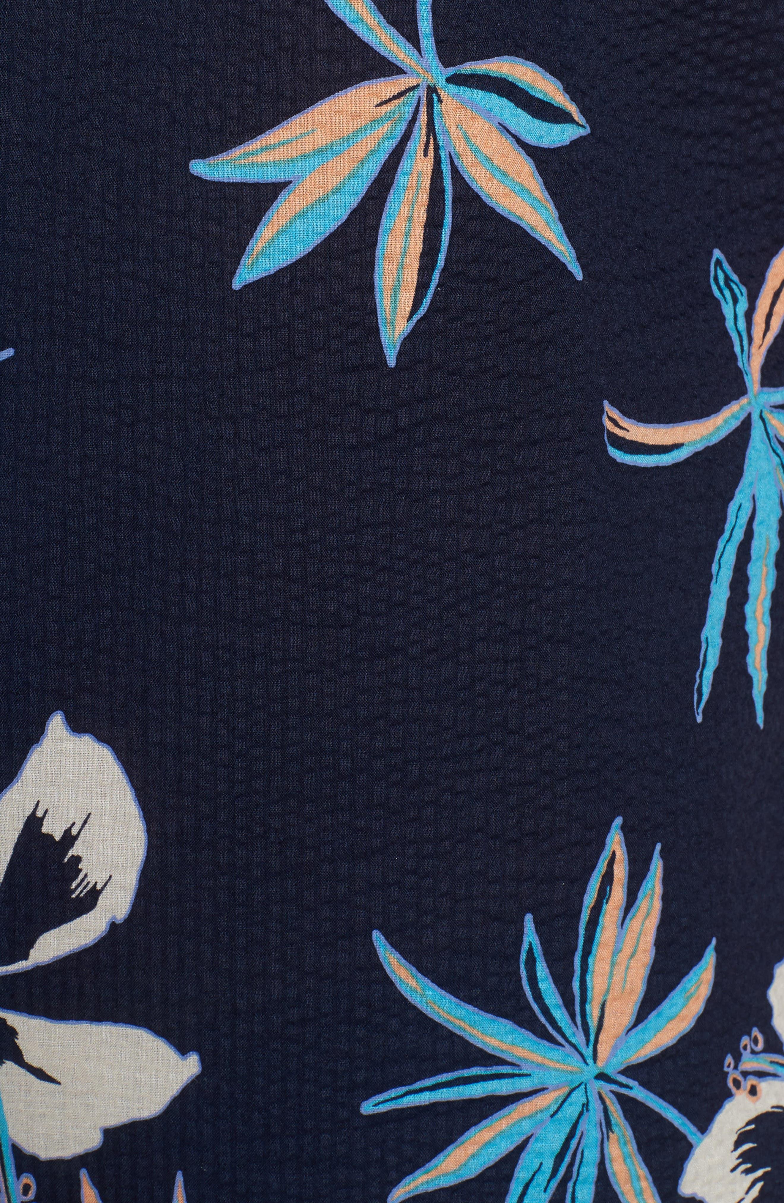 So Fresh Trim Fit Cotton Lawn Sport Shirt,                             Alternate thumbnail 5, color,                             415