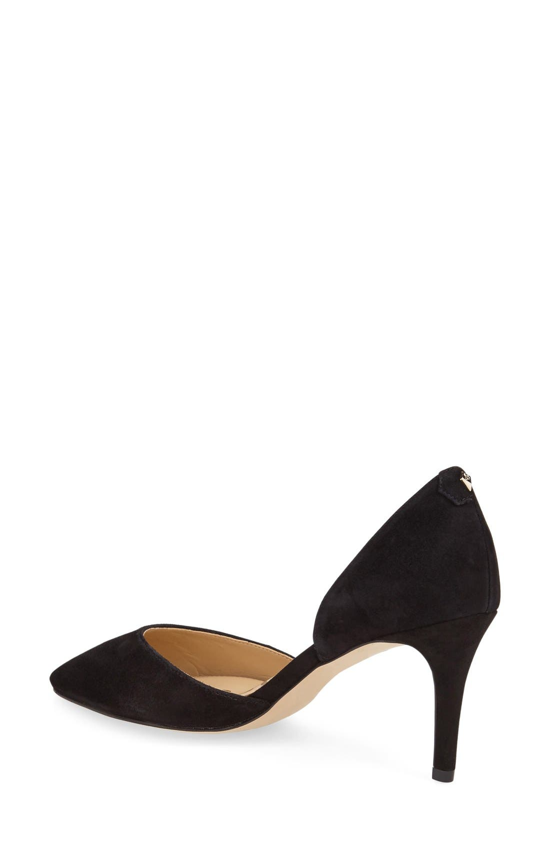 'Telsa' d'Orsay Pointy Toe Pump,                             Alternate thumbnail 21, color,