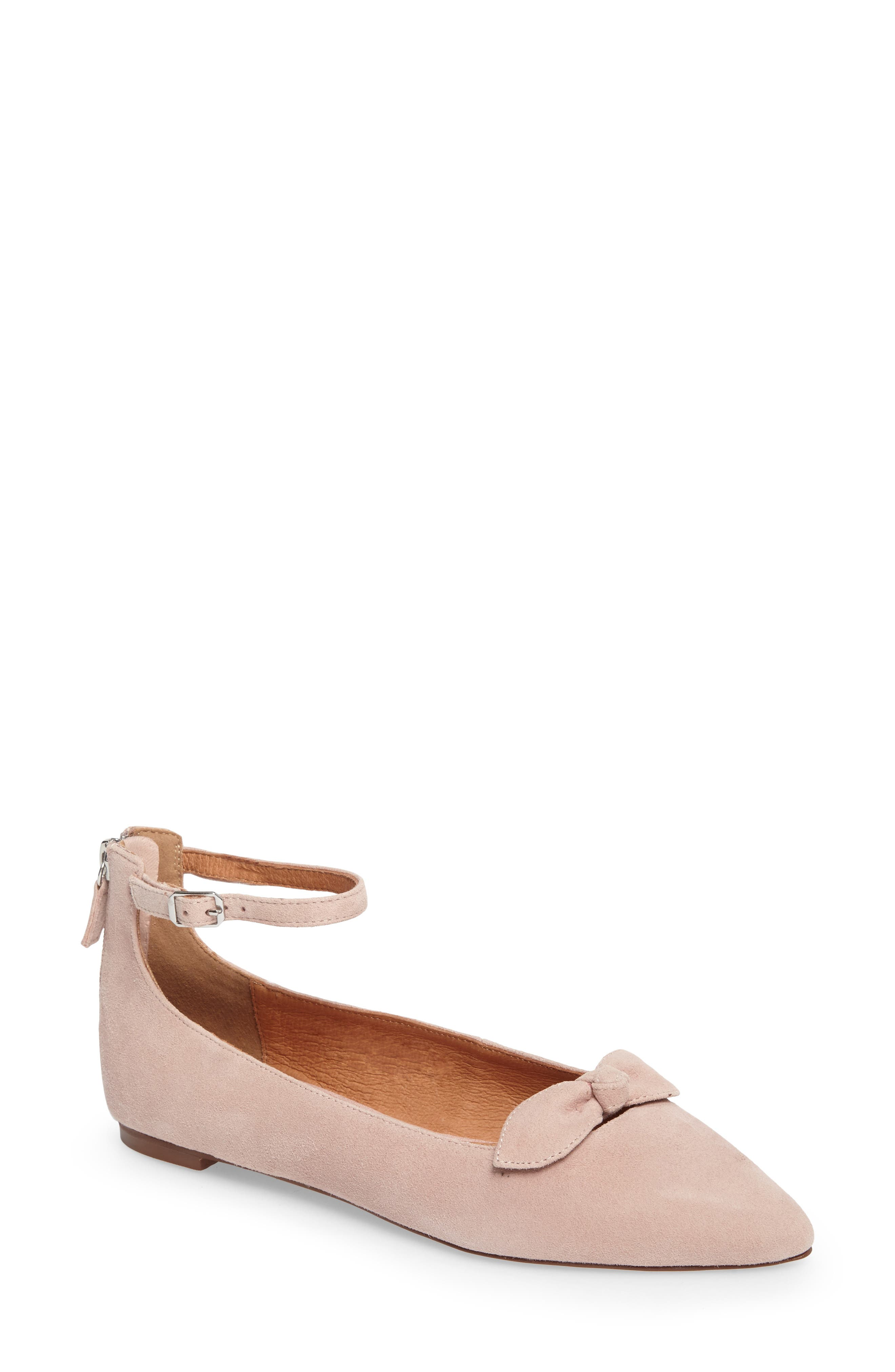 Paisley Ankle Strap Flat,                             Main thumbnail 3, color,