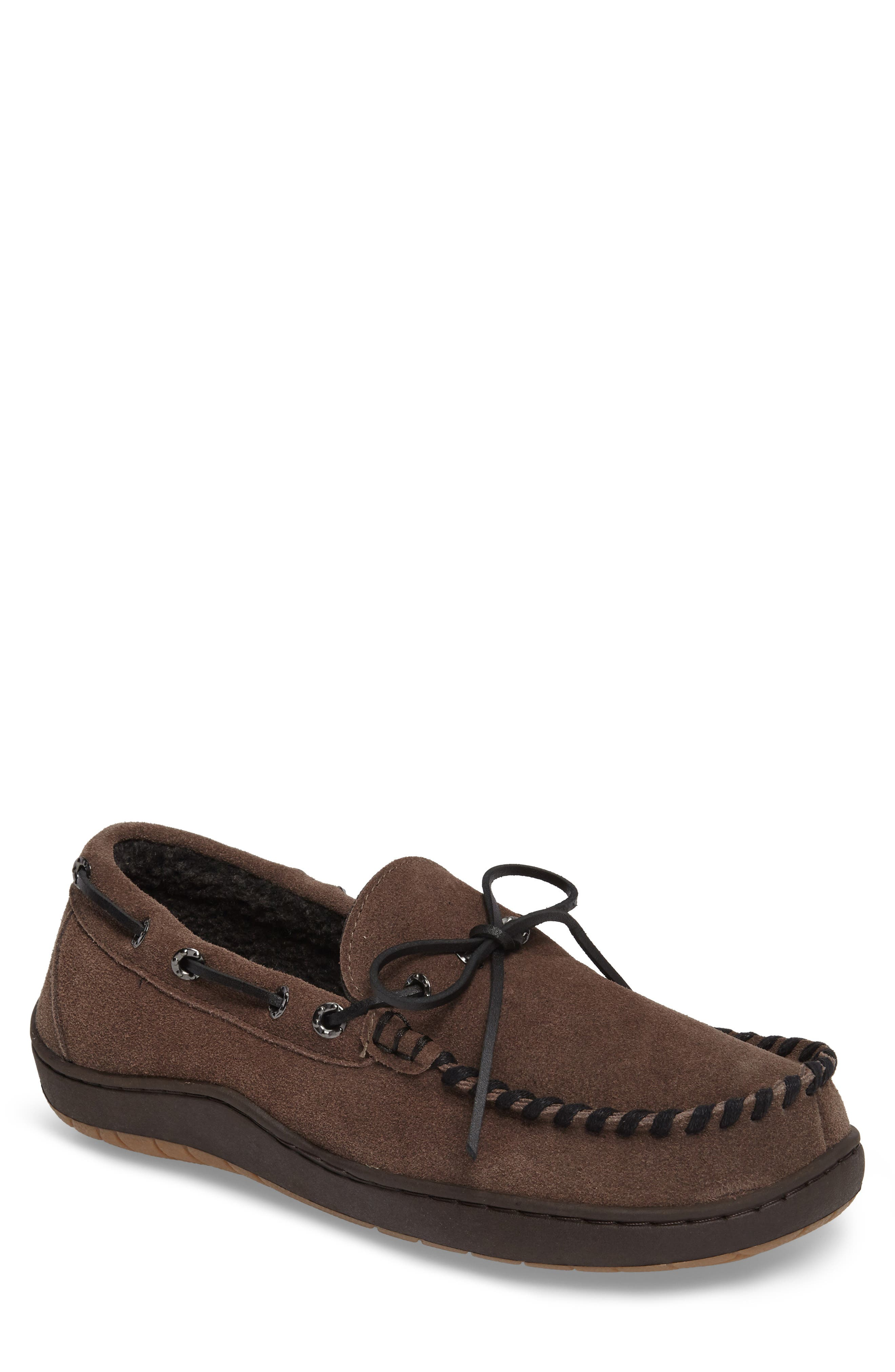 Therman Slipper,                         Main,                         color, CHARCOAL