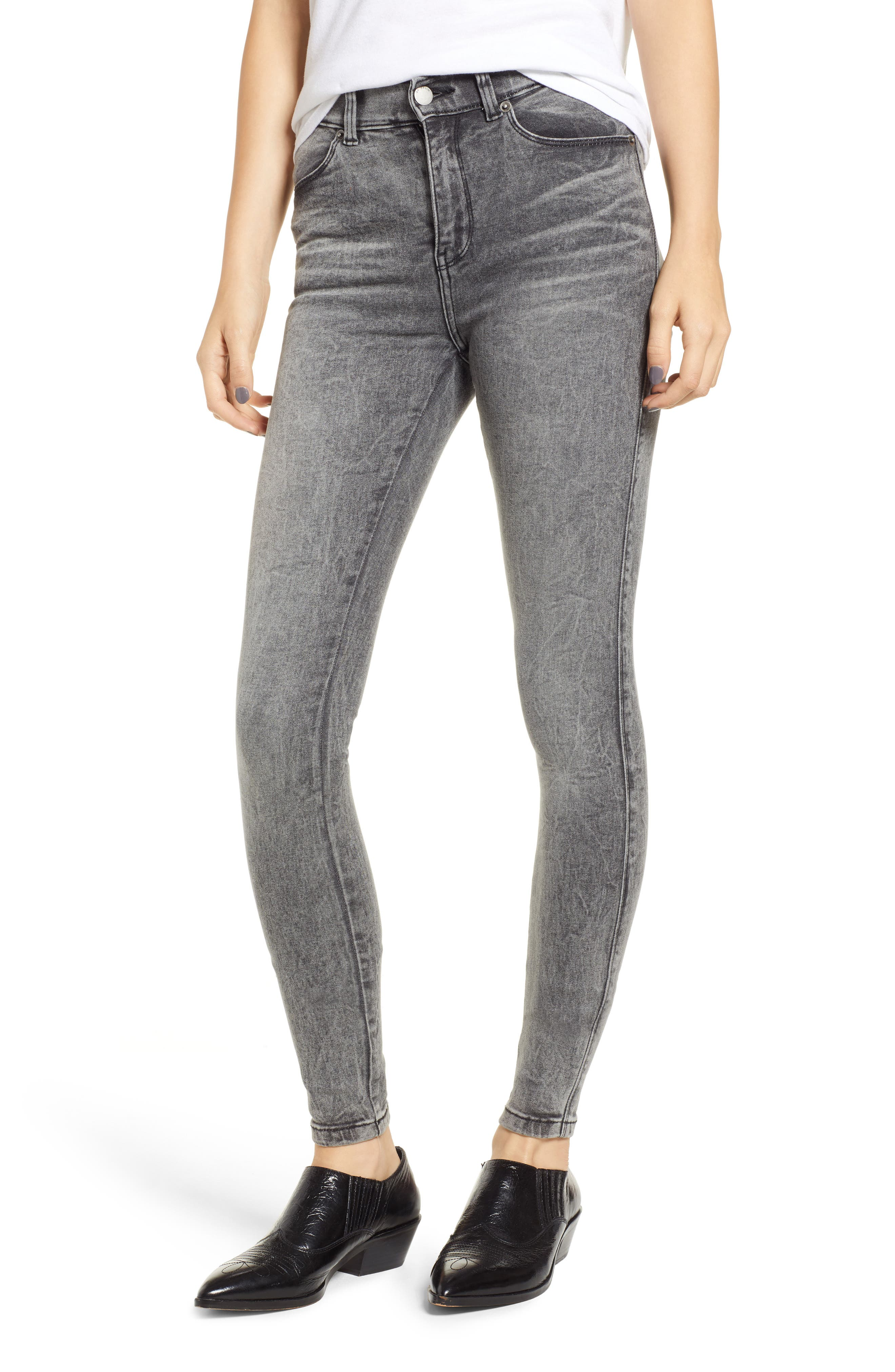 Lexy Skinny Jeans,                         Main,                         color, BOULDER GREY