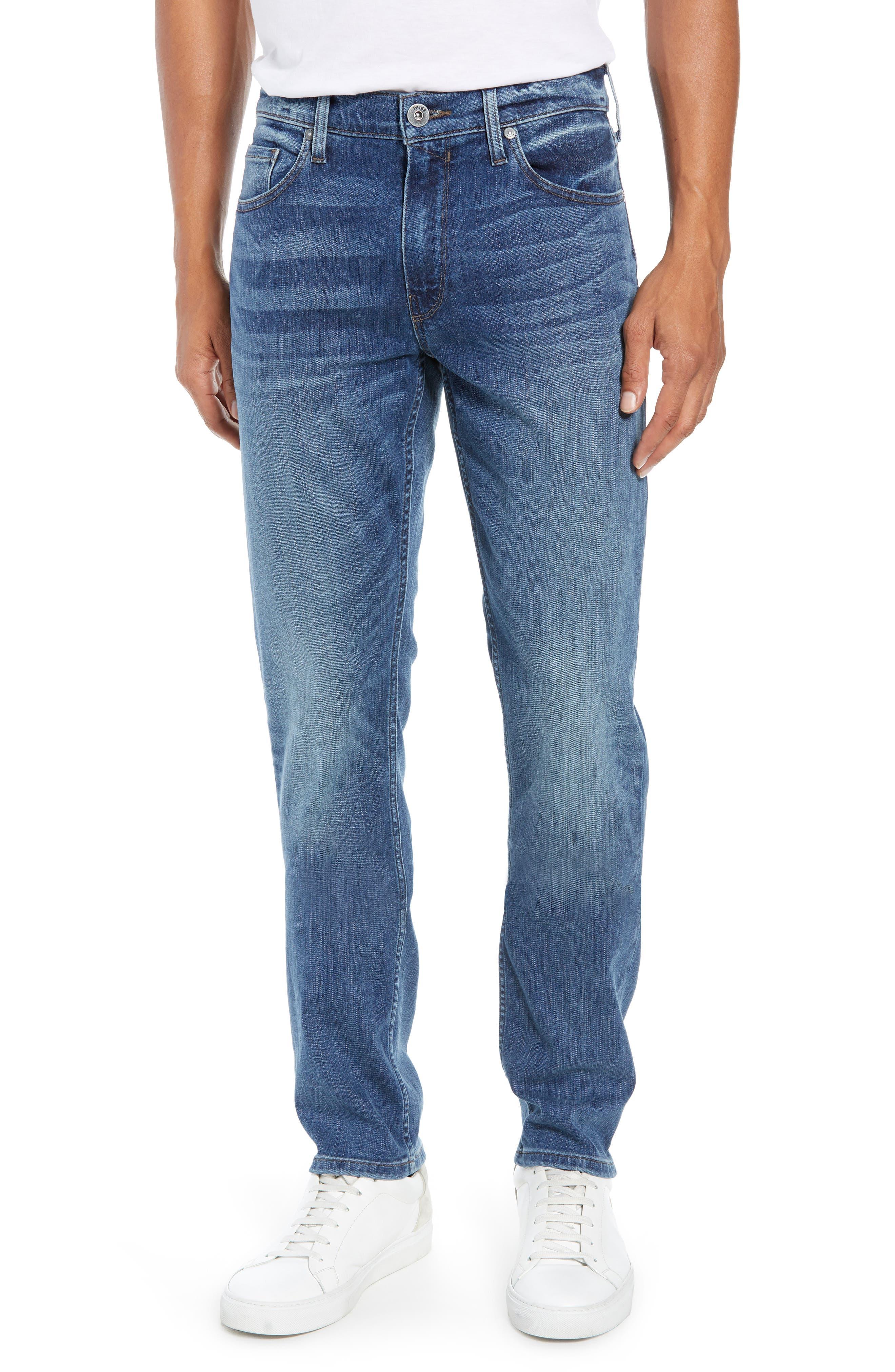 Transcend Vintage - Lennox Slim Fit Jeans,                             Main thumbnail 1, color,                             400
