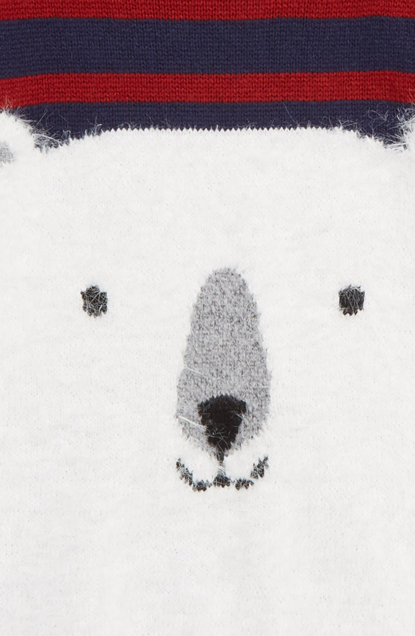 Polar Bear Icon Sweater,                             Alternate thumbnail 2, color,                             NAVY BLAZER POLAR BEAR