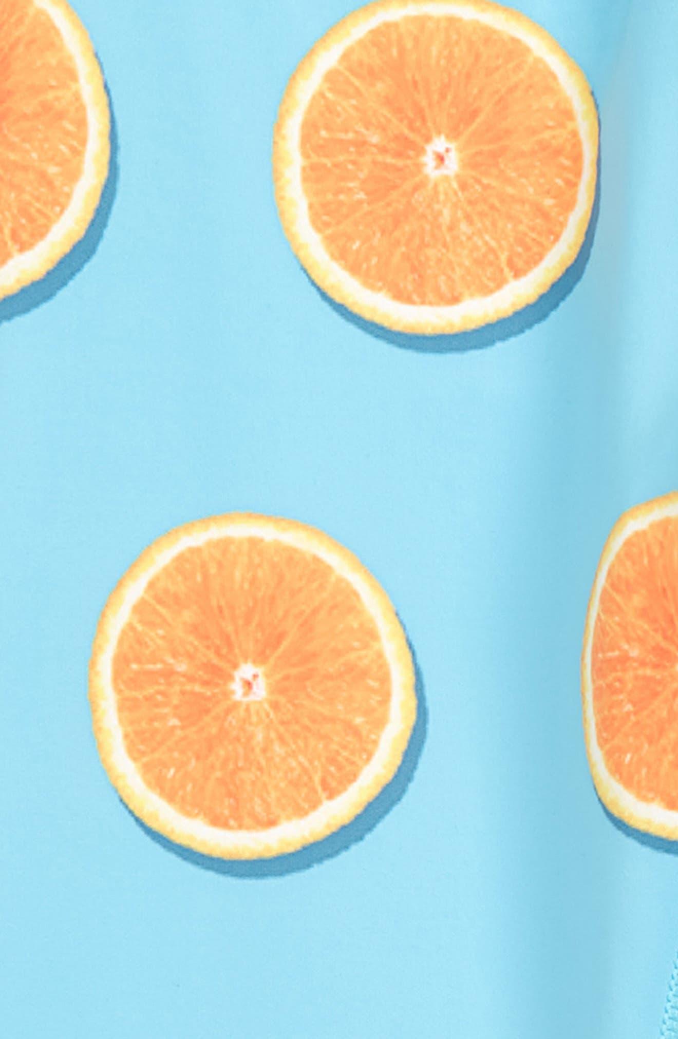 Oranges Of My Eyes Yoga Pants,                             Alternate thumbnail 3, color,                             400