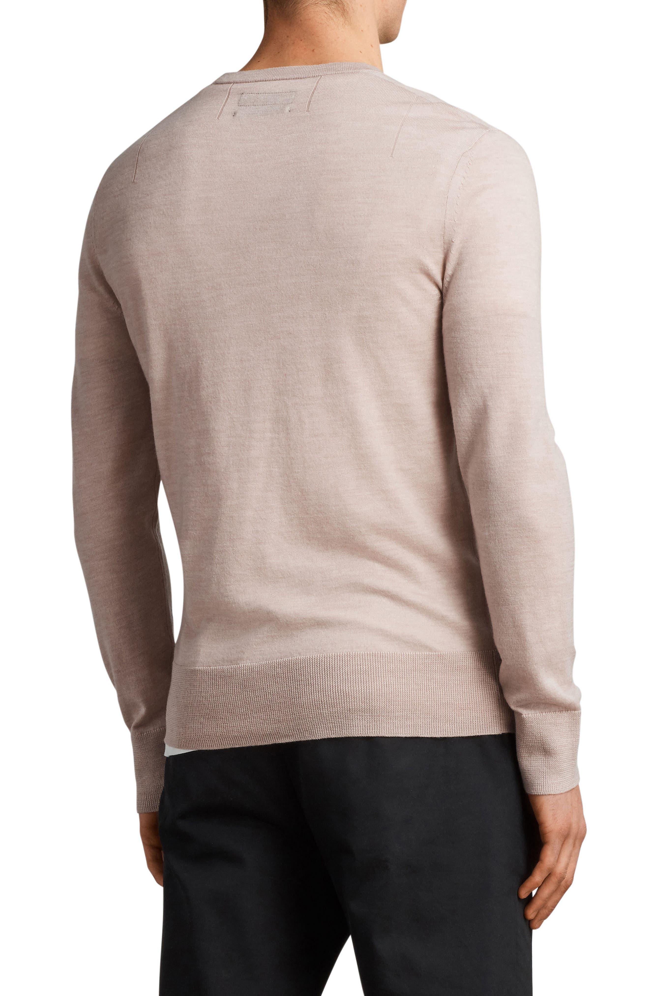 Mode Slim Fit Merino Wool Sweater,                             Alternate thumbnail 14, color,