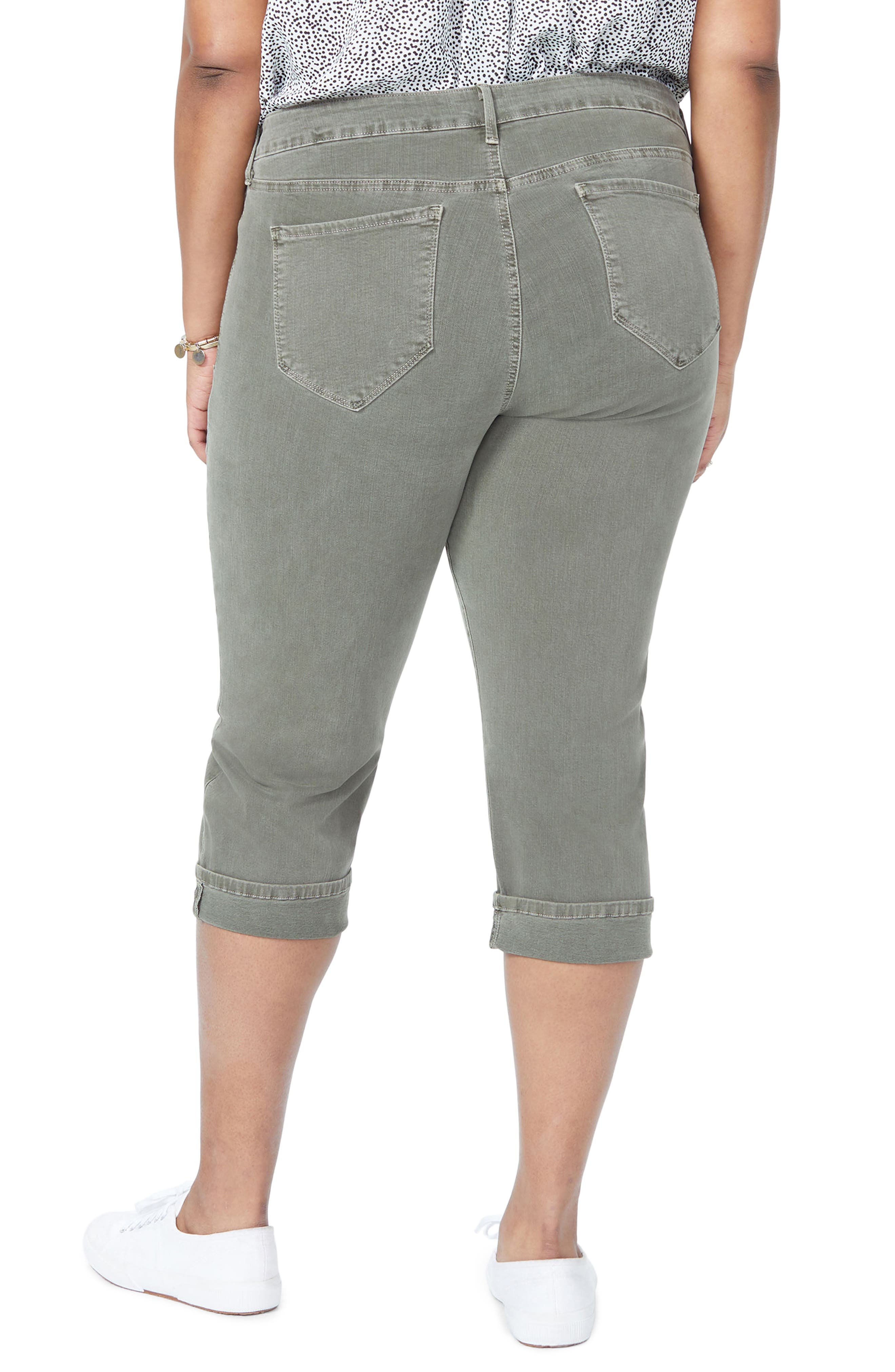 Marilyn Crop Cuff Jeans,                             Alternate thumbnail 6, color,