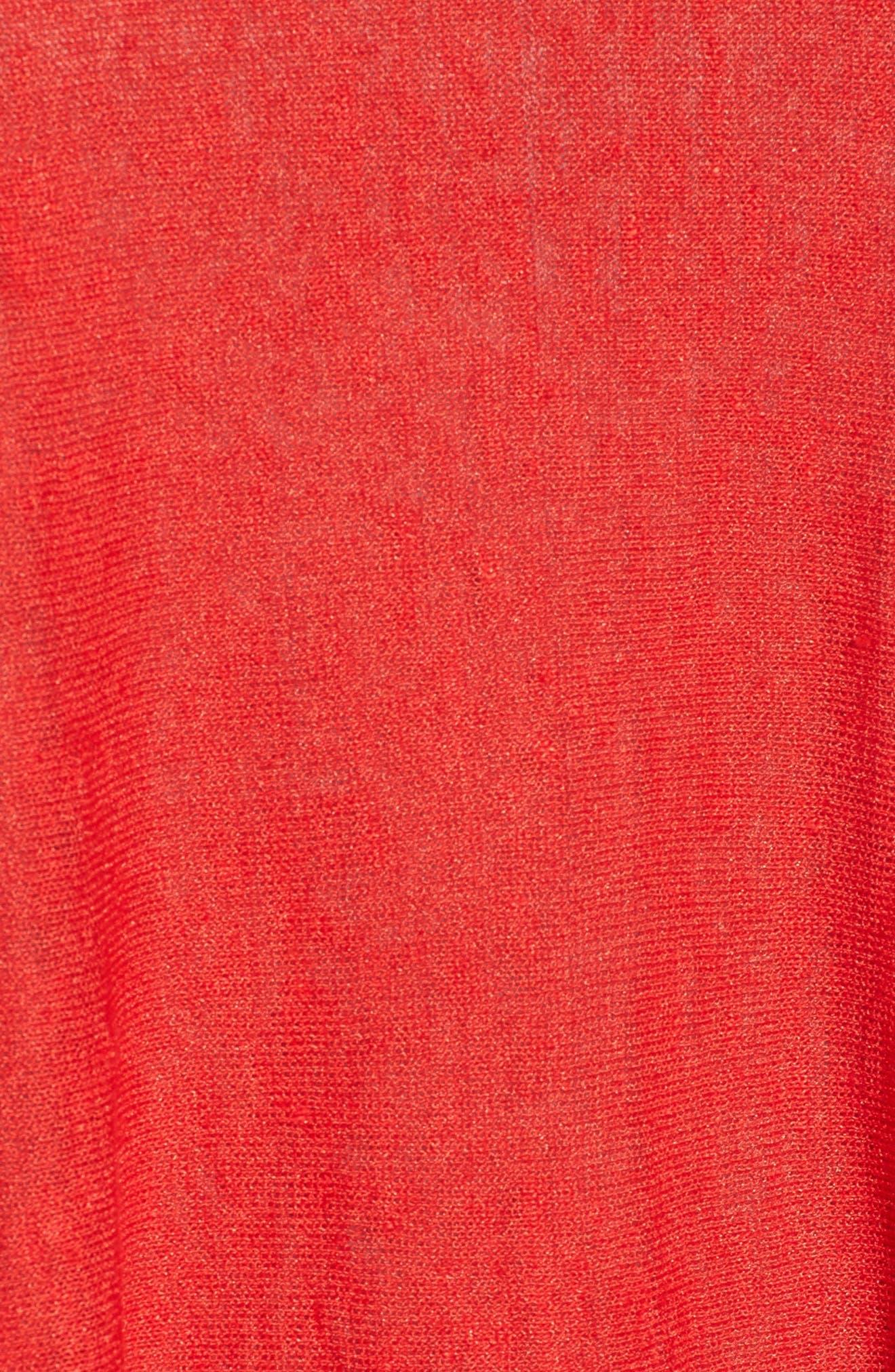 Organic Linen Blend Swing Sweater,                             Alternate thumbnail 44, color,
