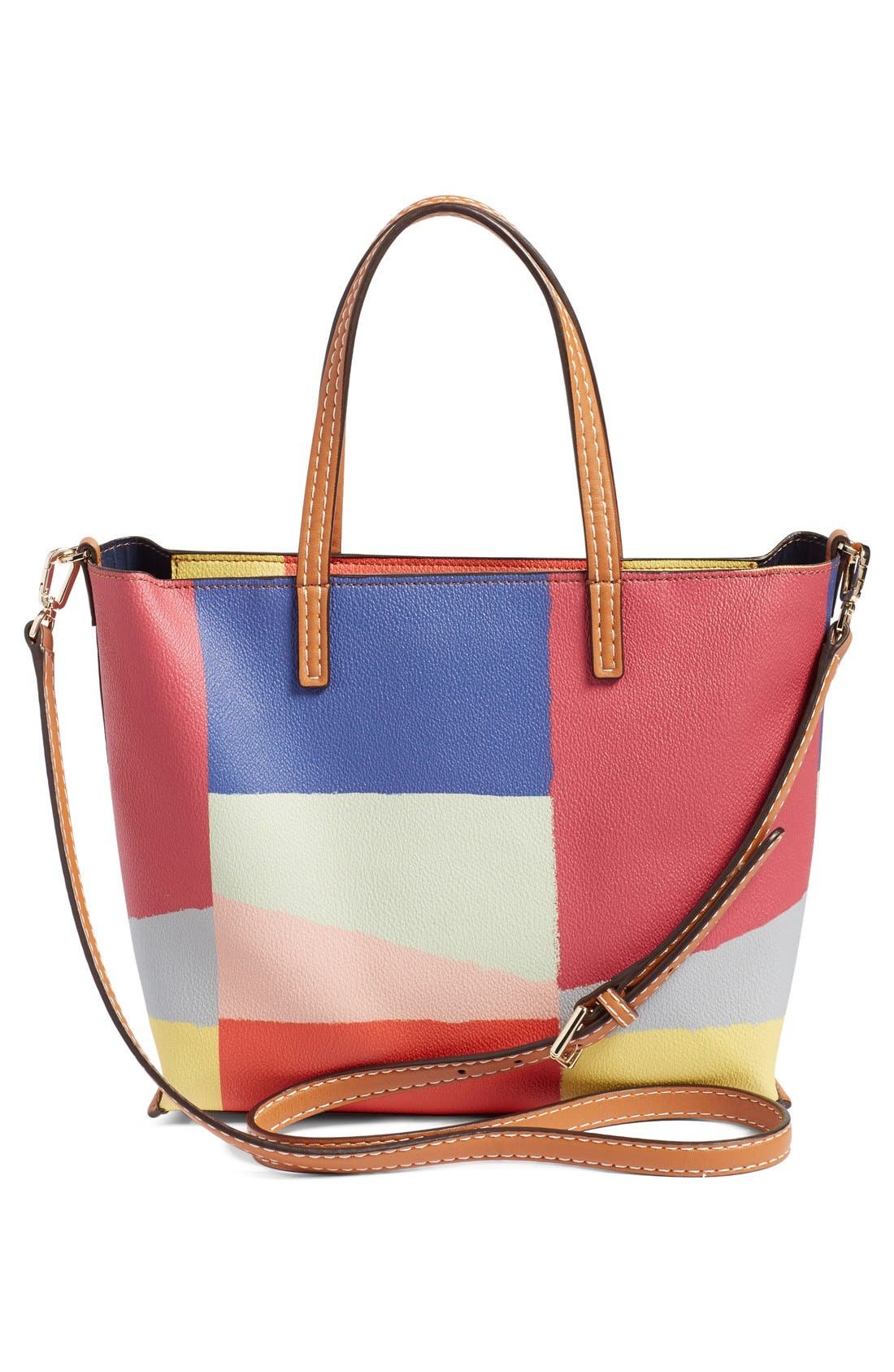 'Small Kerrington Square' Tote,                             Alternate thumbnail 5, color,                             600